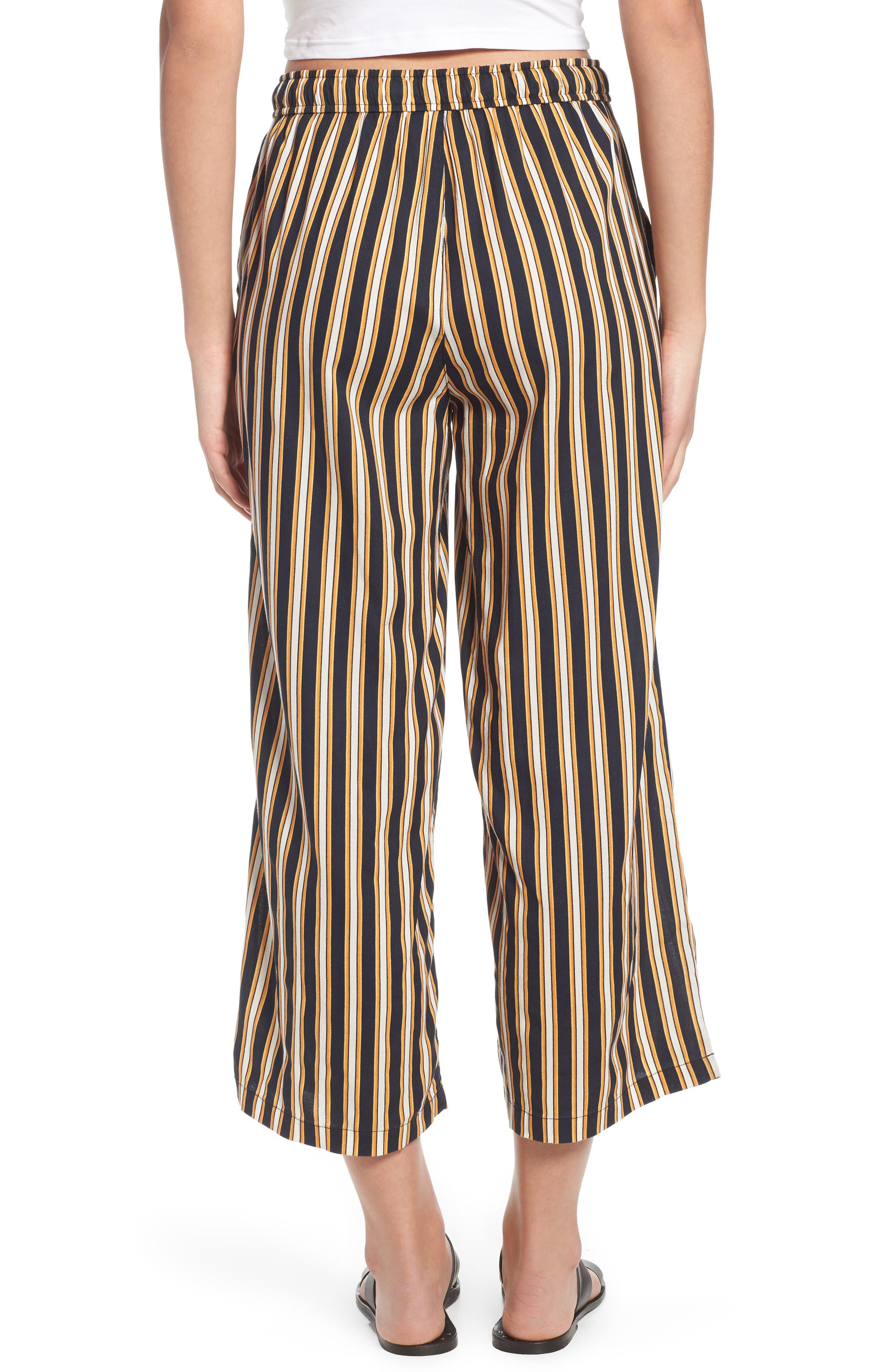 Stoney Stripe Pants,                             Alternate thumbnail 3, color,                             Navy Sea