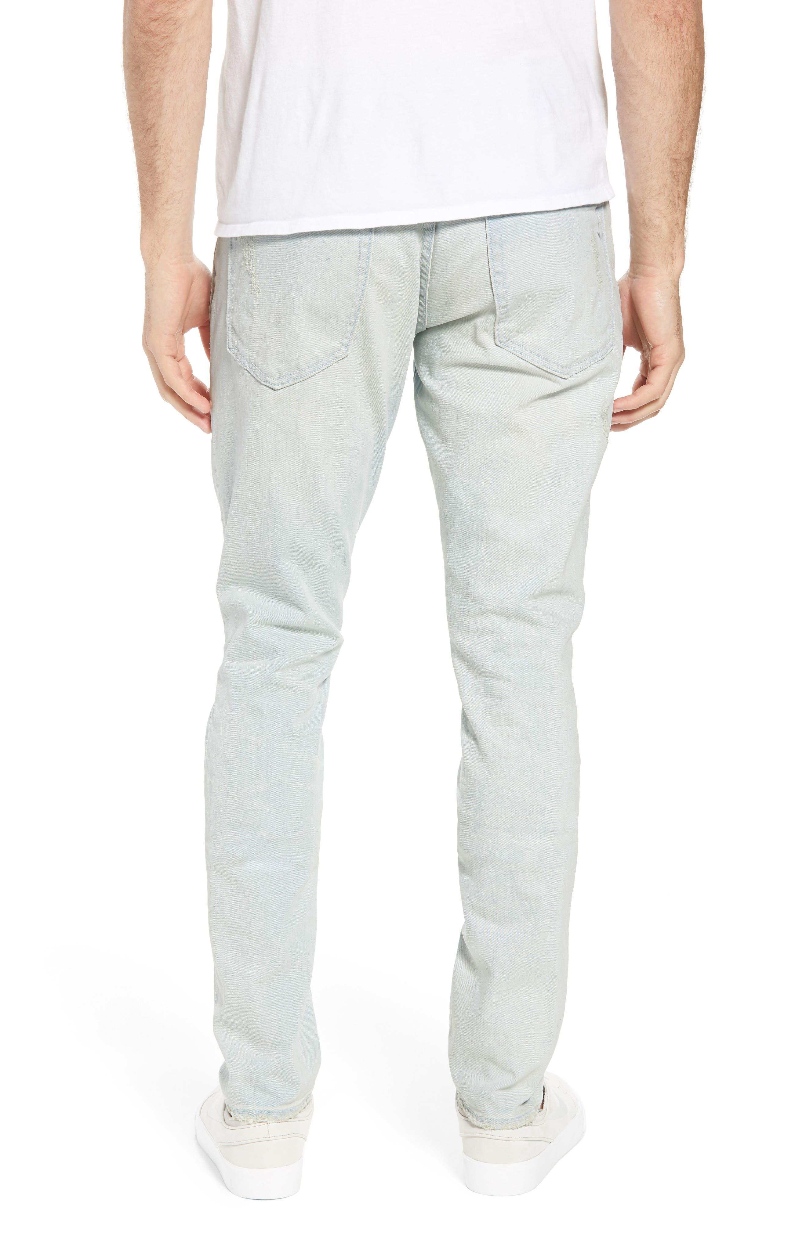 Windsor Slim Fit Jeans,                             Alternate thumbnail 2, color,                             Blue