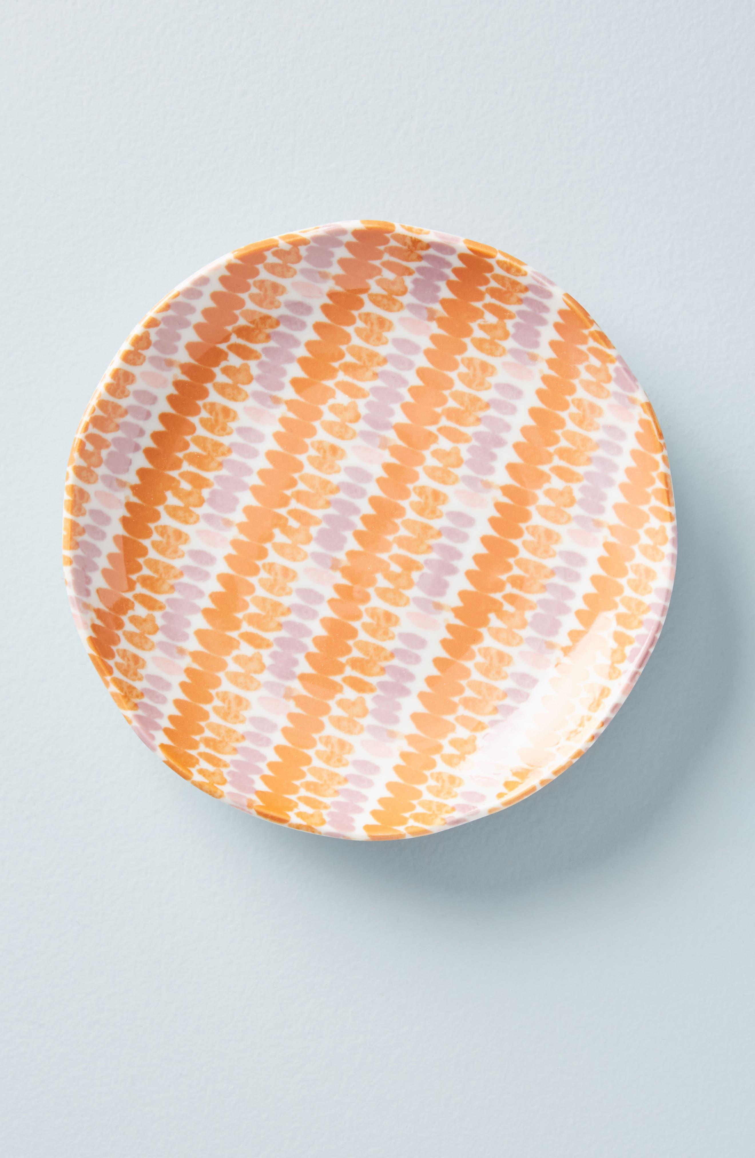Elias Canapé Plate,                         Main,                         color, Terracotta