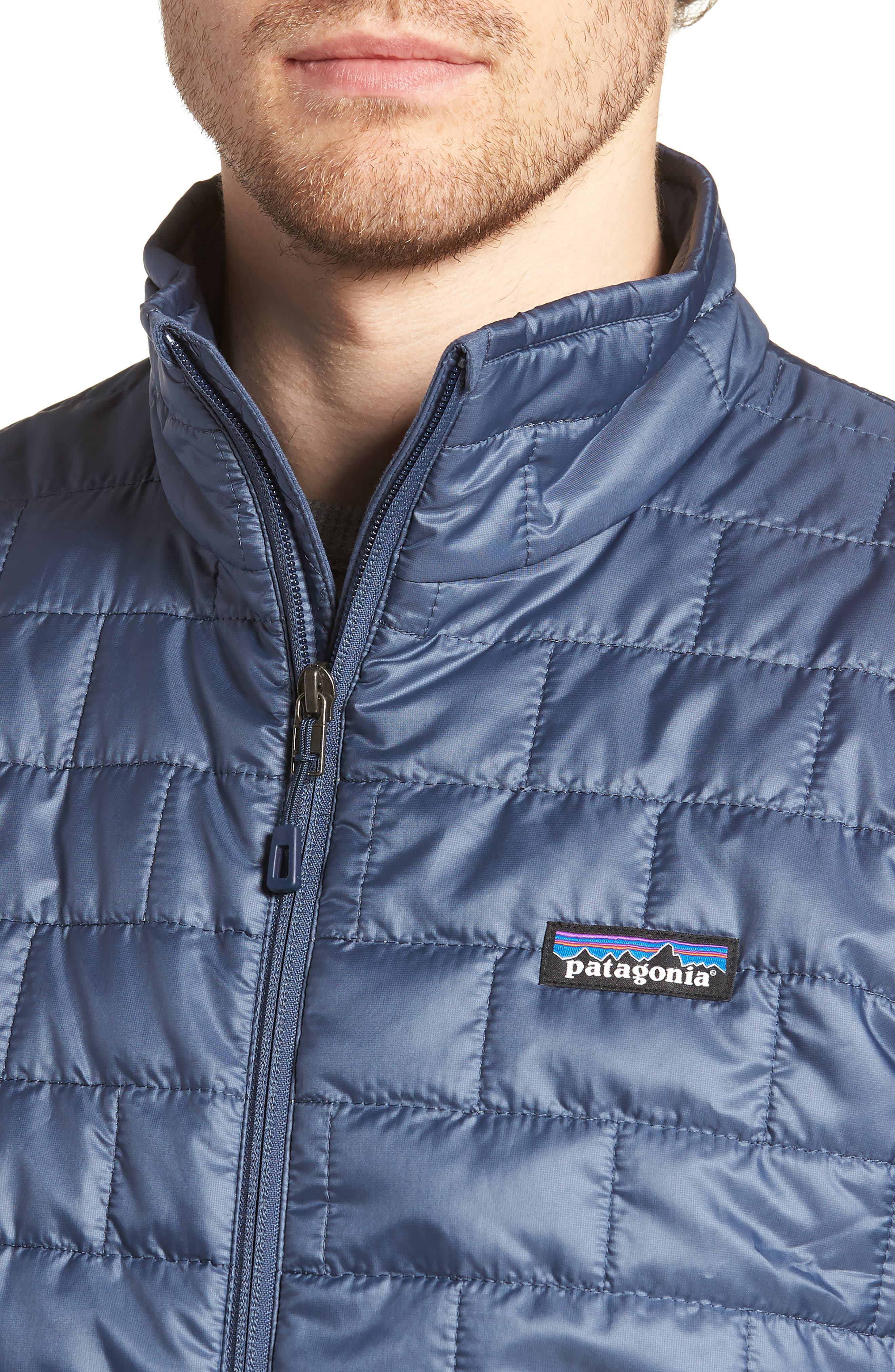 'Nano Puff<sup>®</sup>' Water Resistant Jacket,                             Alternate thumbnail 4, color,                             Dolomite Blue