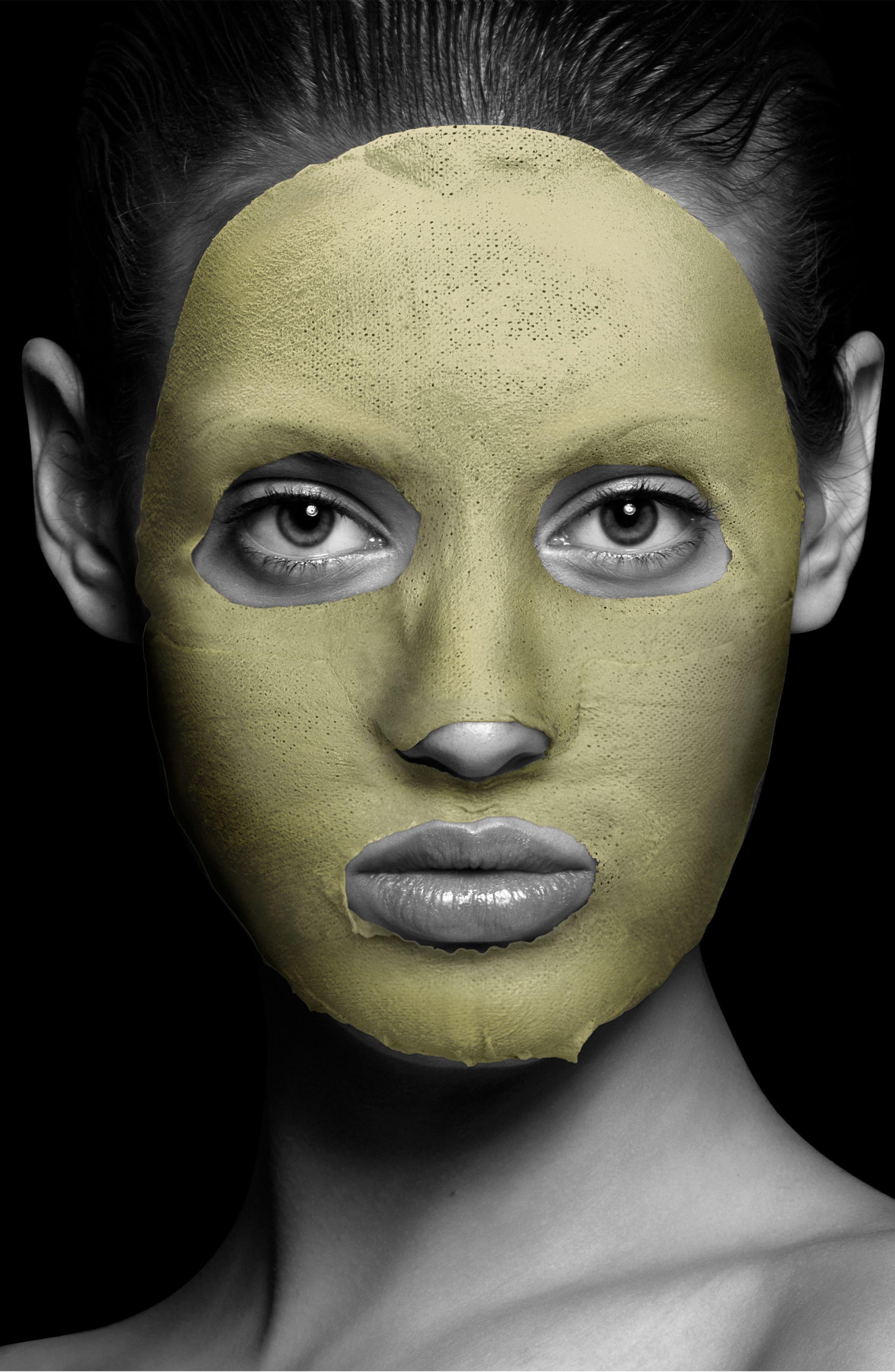 Silkmud Green Tea Clay Anti-Aging Liftaway Mud Face Mask,                             Alternate thumbnail 2, color,                             No Color