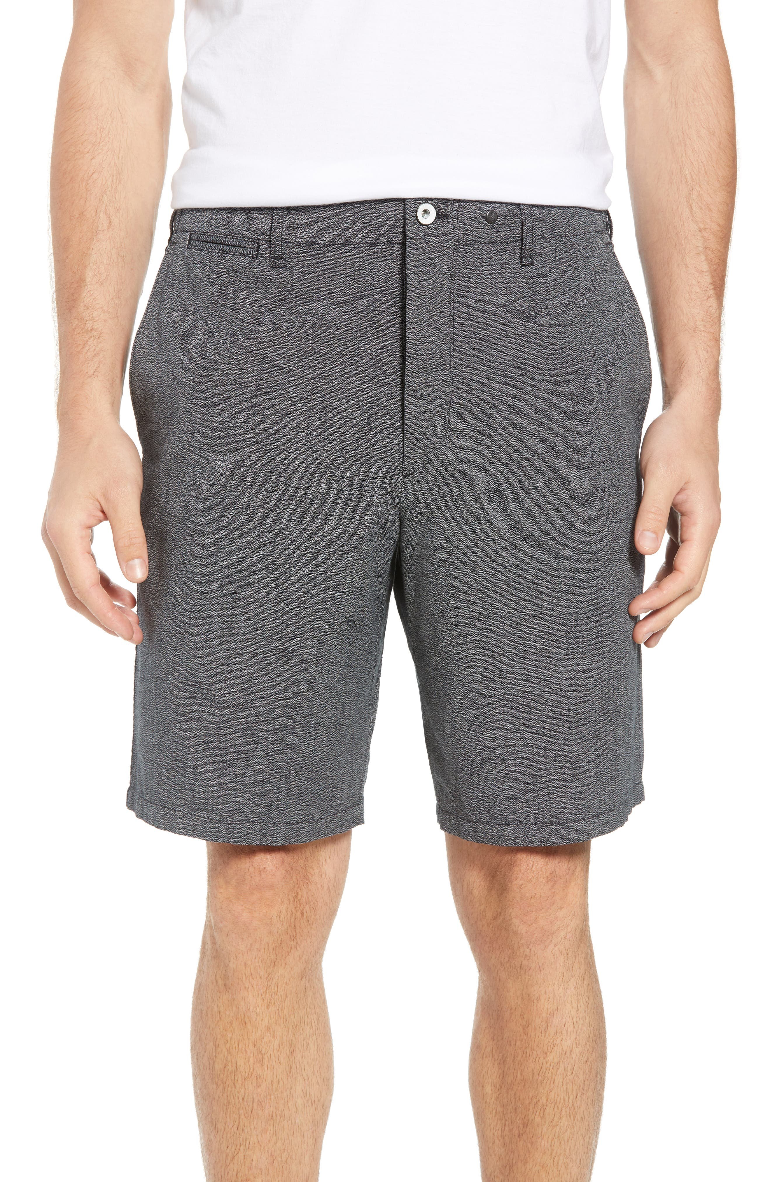 Base Classic Fit Shorts,                         Main,                         color, Grey