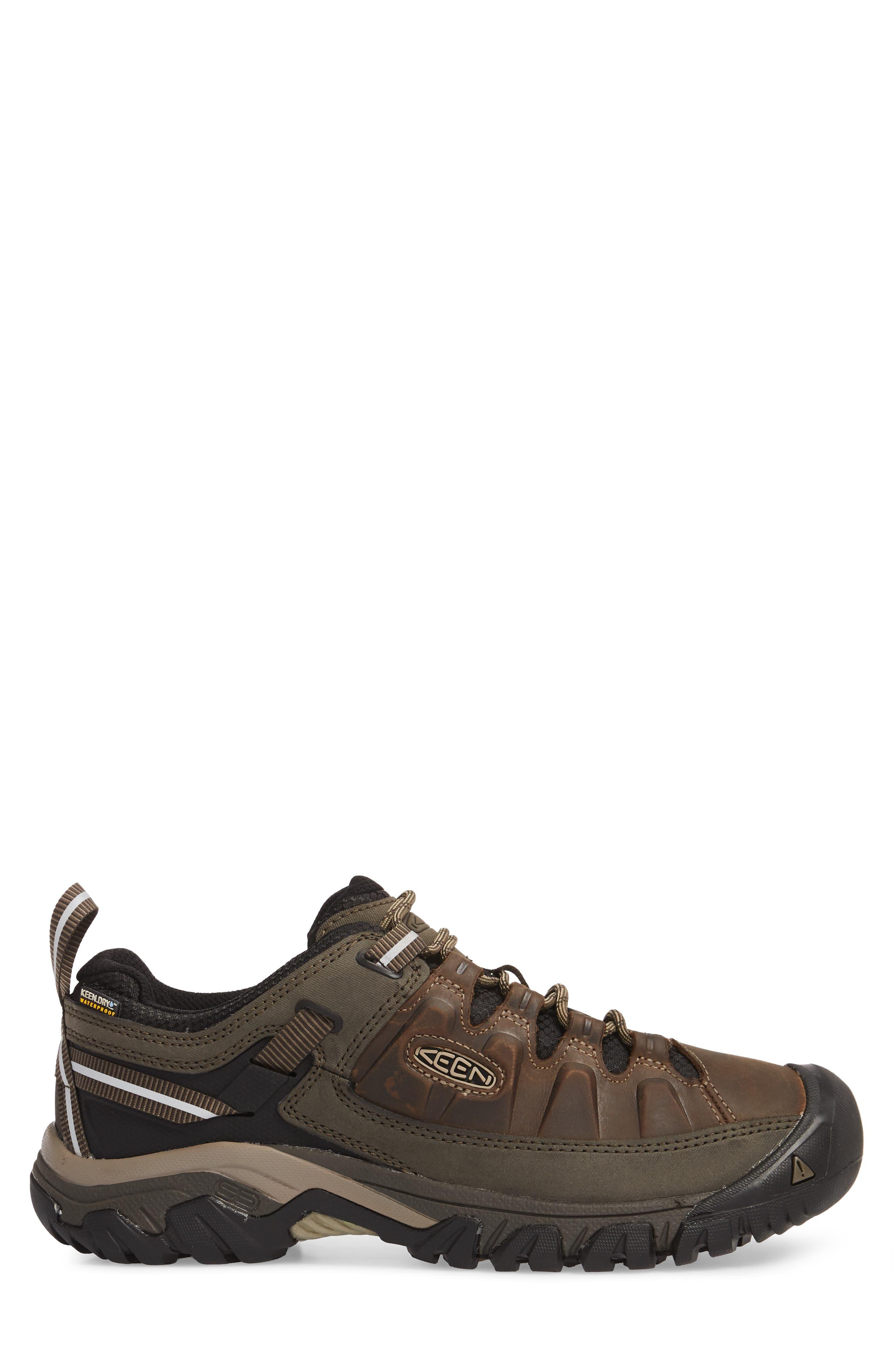 Targhee III Waterproof Hiking Shoe,                             Alternate thumbnail 3, color,                             Bungee Cord/Black