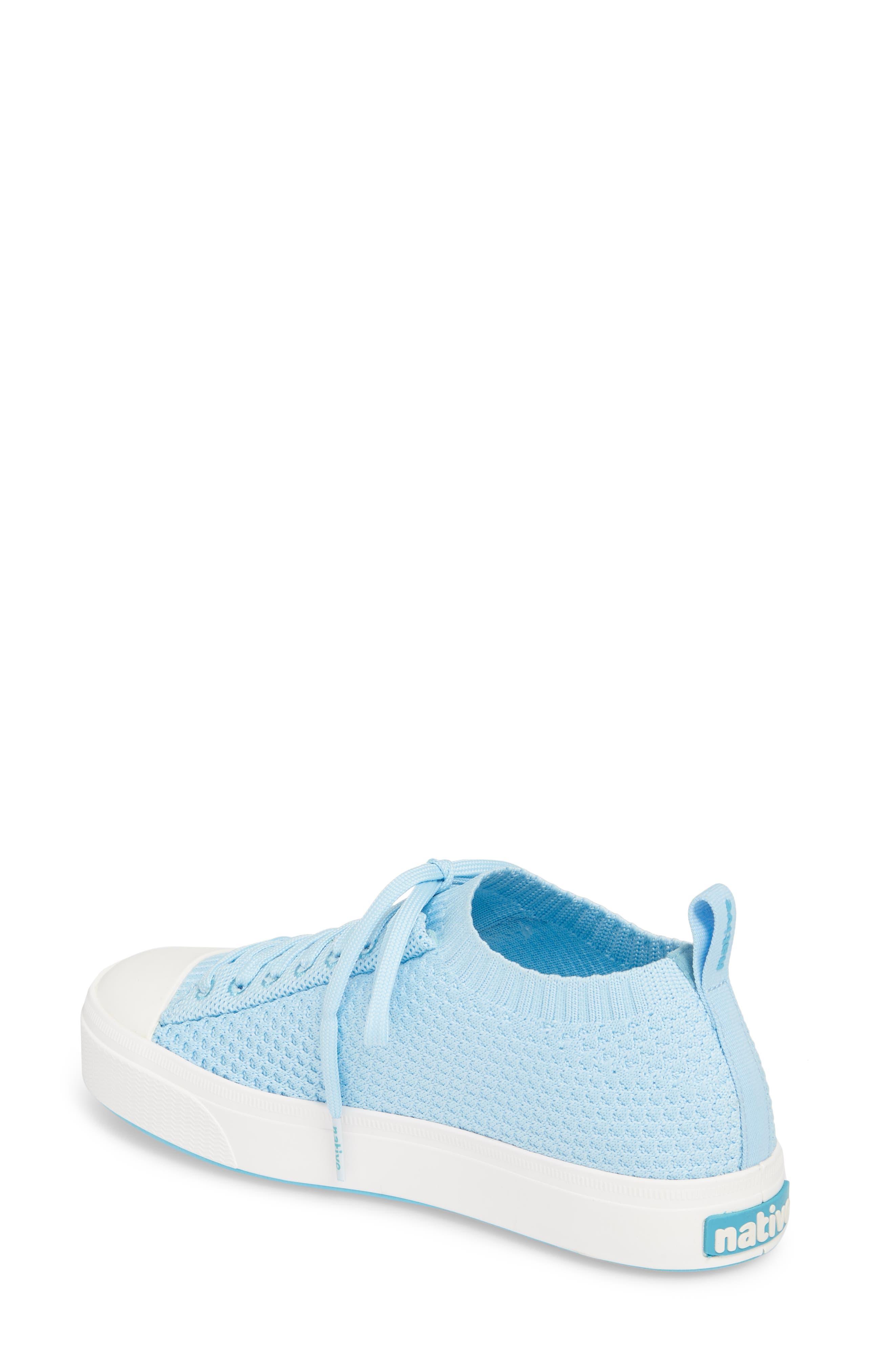 Jefferson 2.0 Liteknit Sneaker,                             Alternate thumbnail 2, color,                             Sky Blue/ Shell White