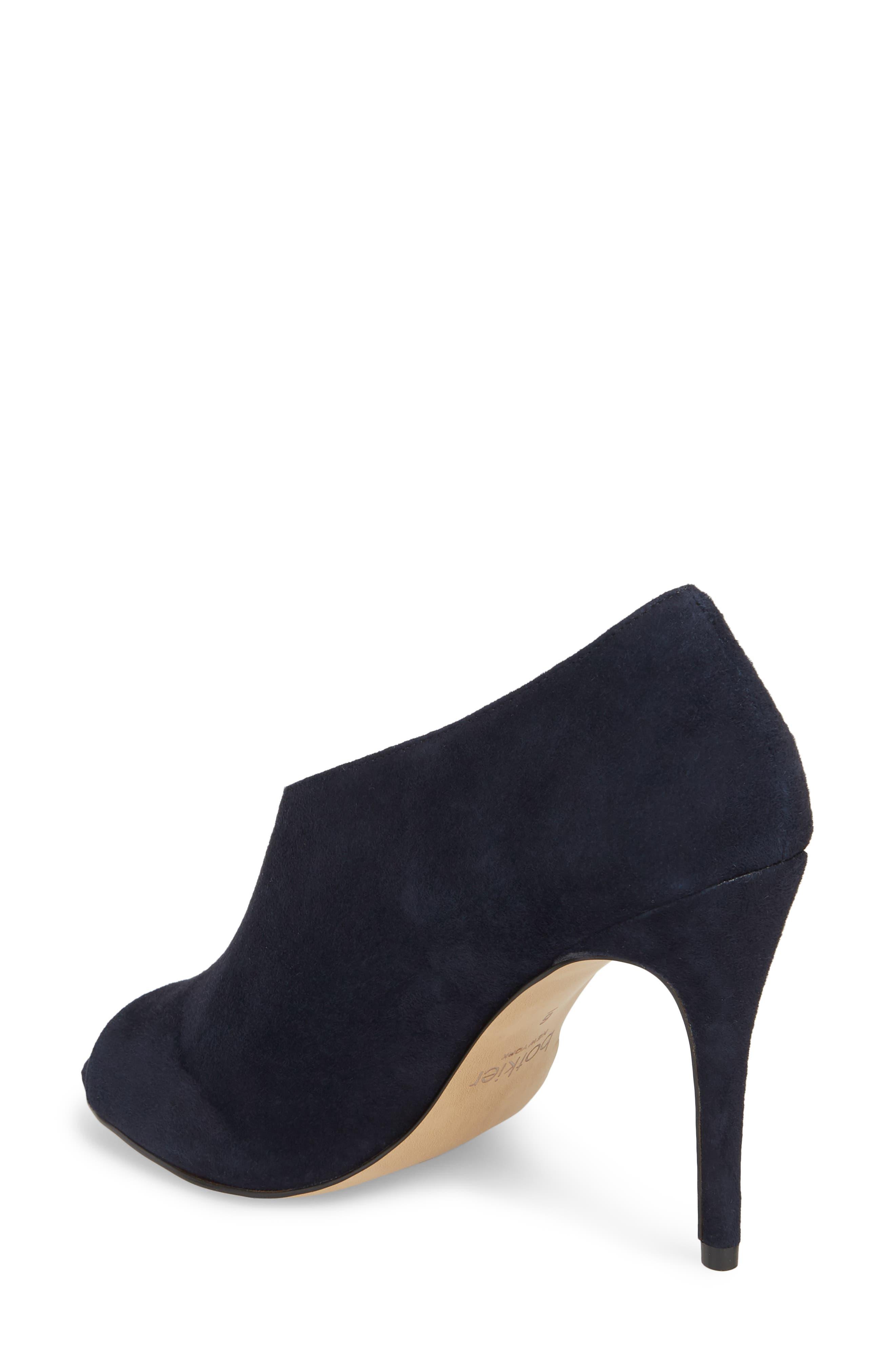 Adelia Asymmetrical Sandal,                             Alternate thumbnail 2, color,                             Navy Suede