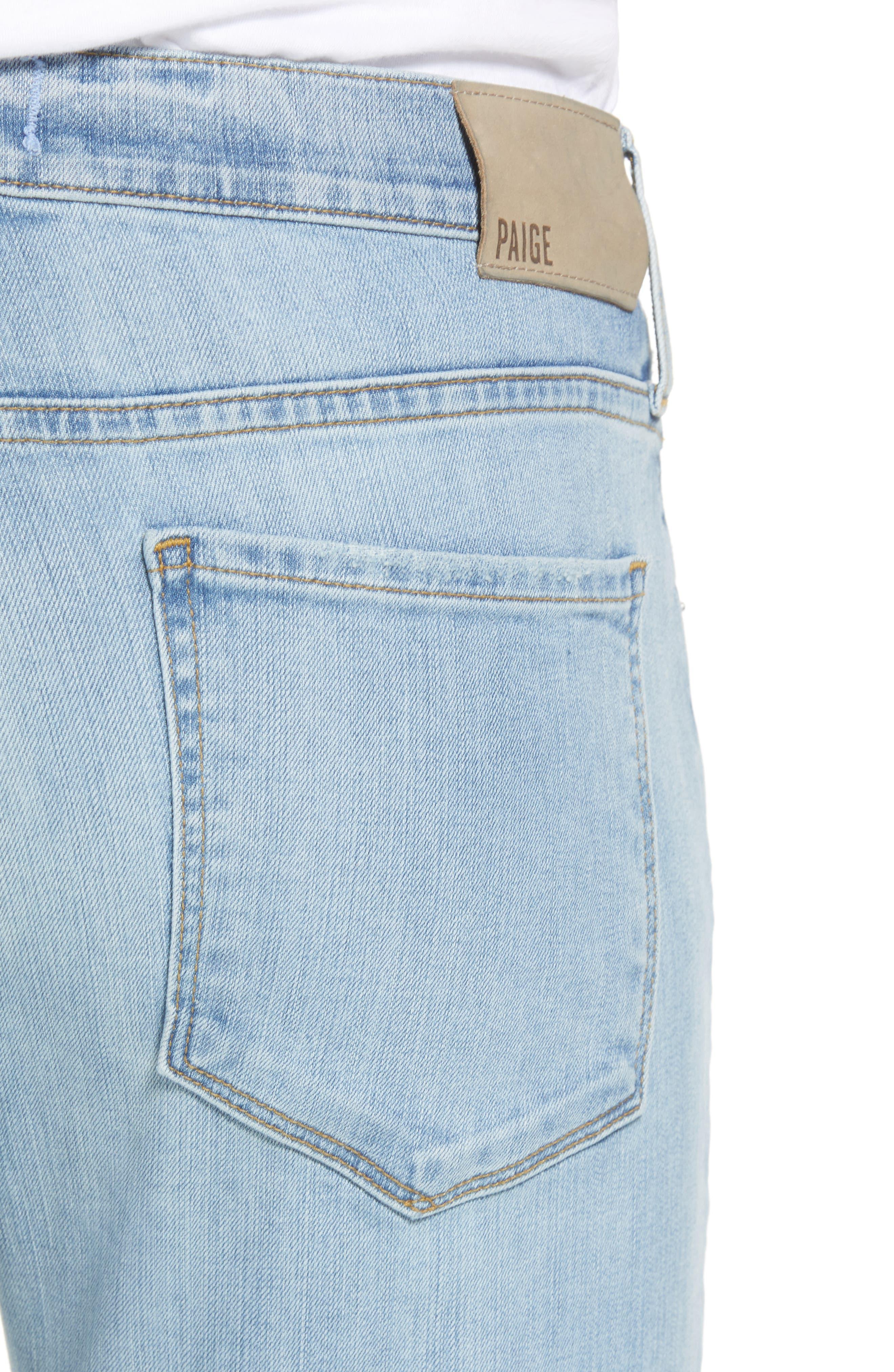 Lennox Slim Fit Jeans,                             Alternate thumbnail 5, color,                             County Destructed