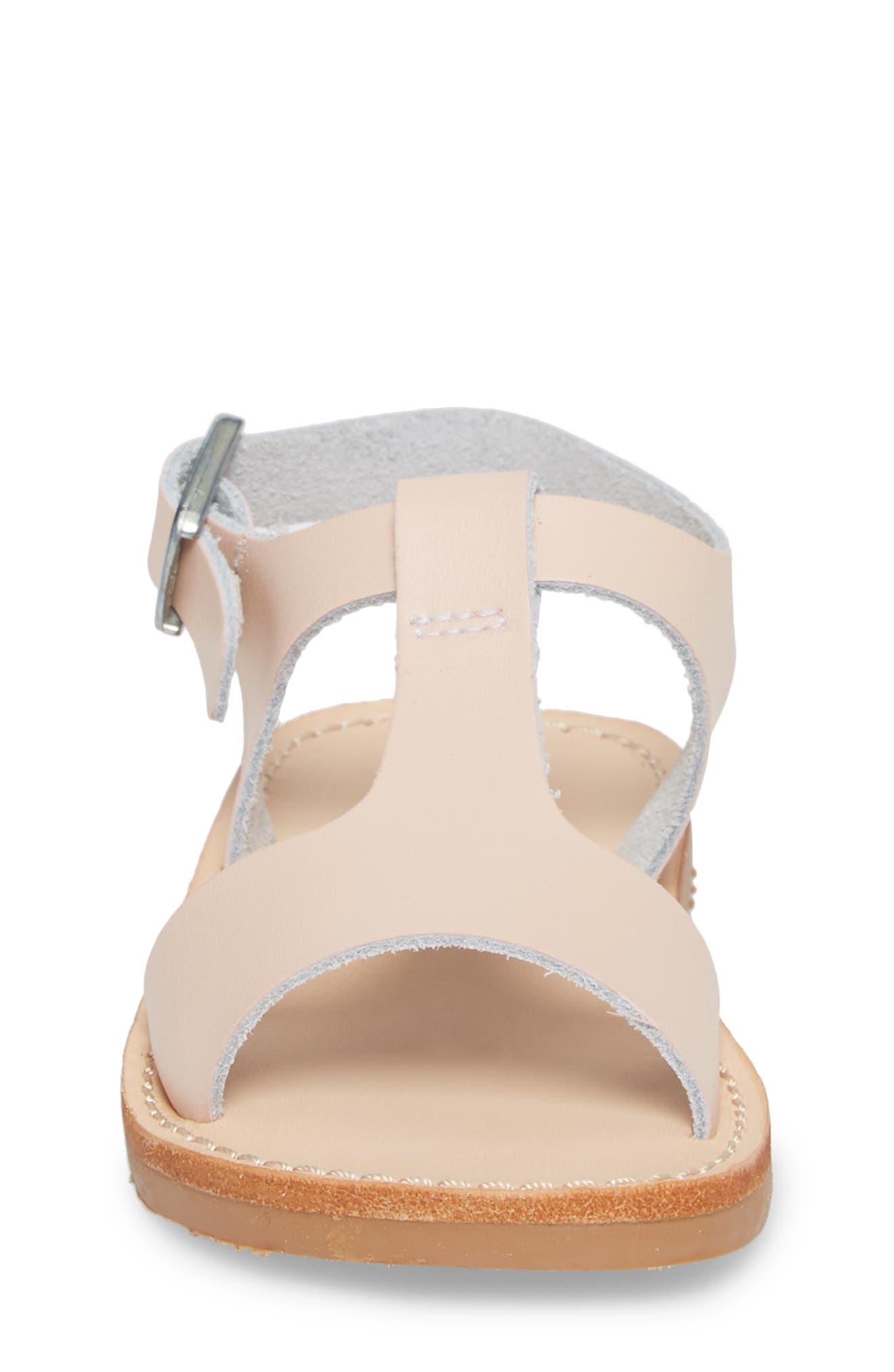 Malibu Water Resistant Sandal,                             Alternate thumbnail 4, color,                             Blush
