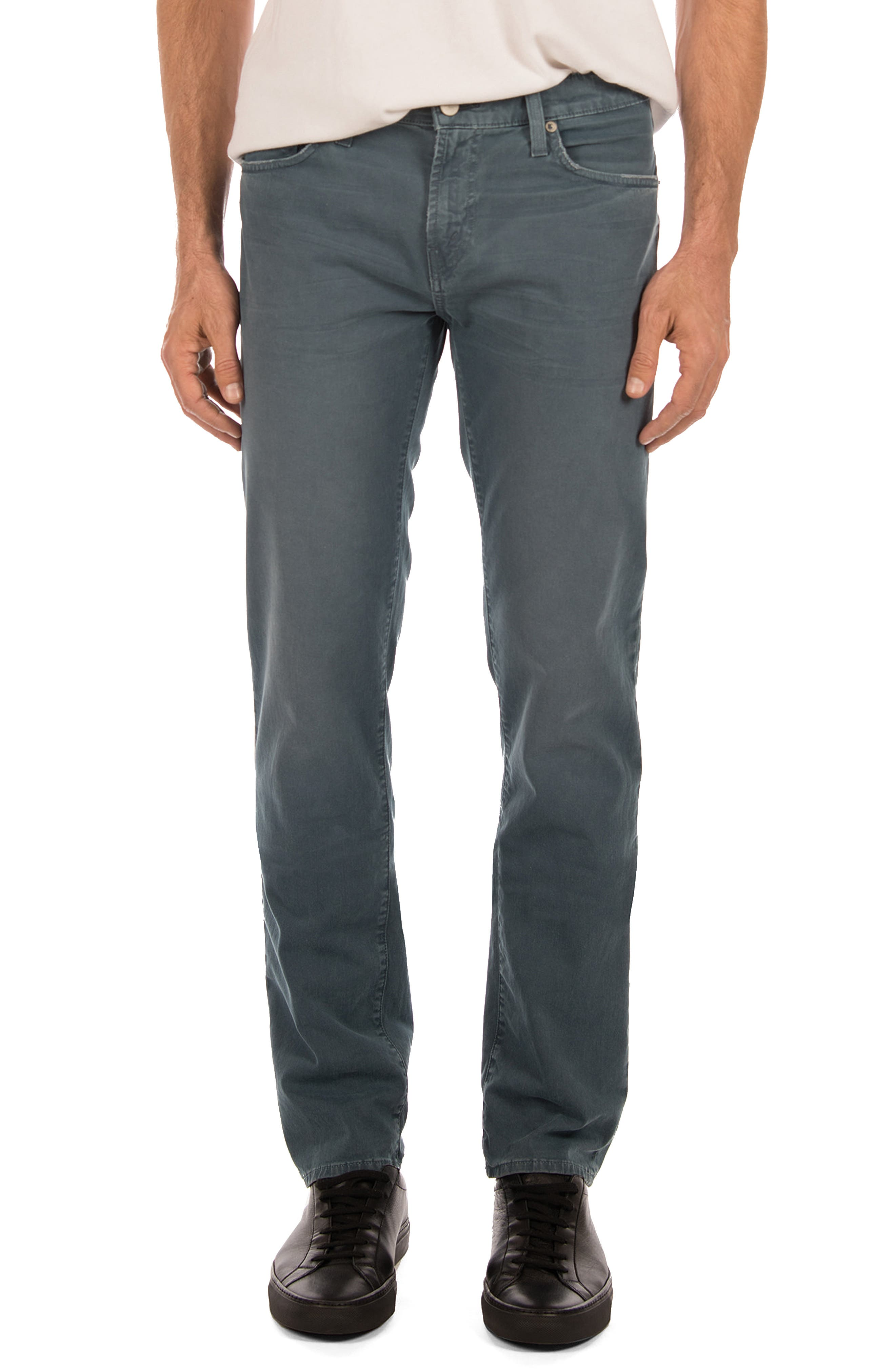 Tyler Slim Fit Jeans,                             Main thumbnail 1, color,                             Thrashed Tilite