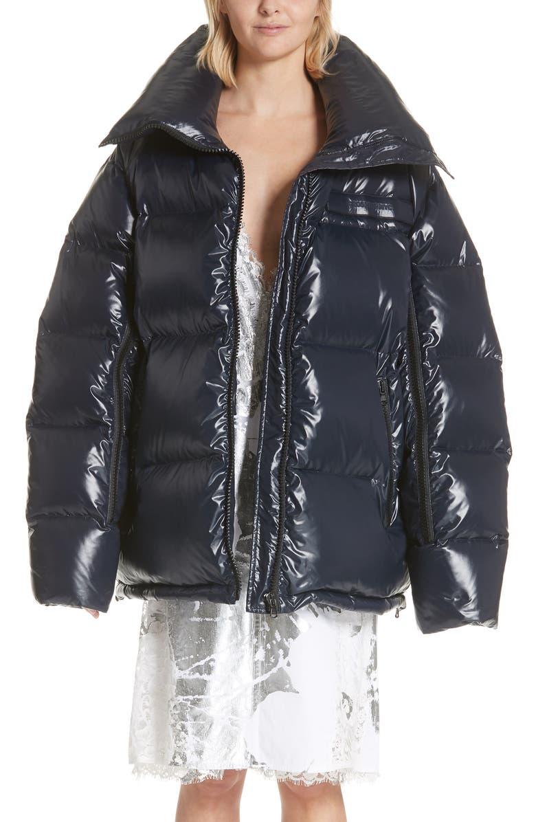 Convertible Puffer Jacket