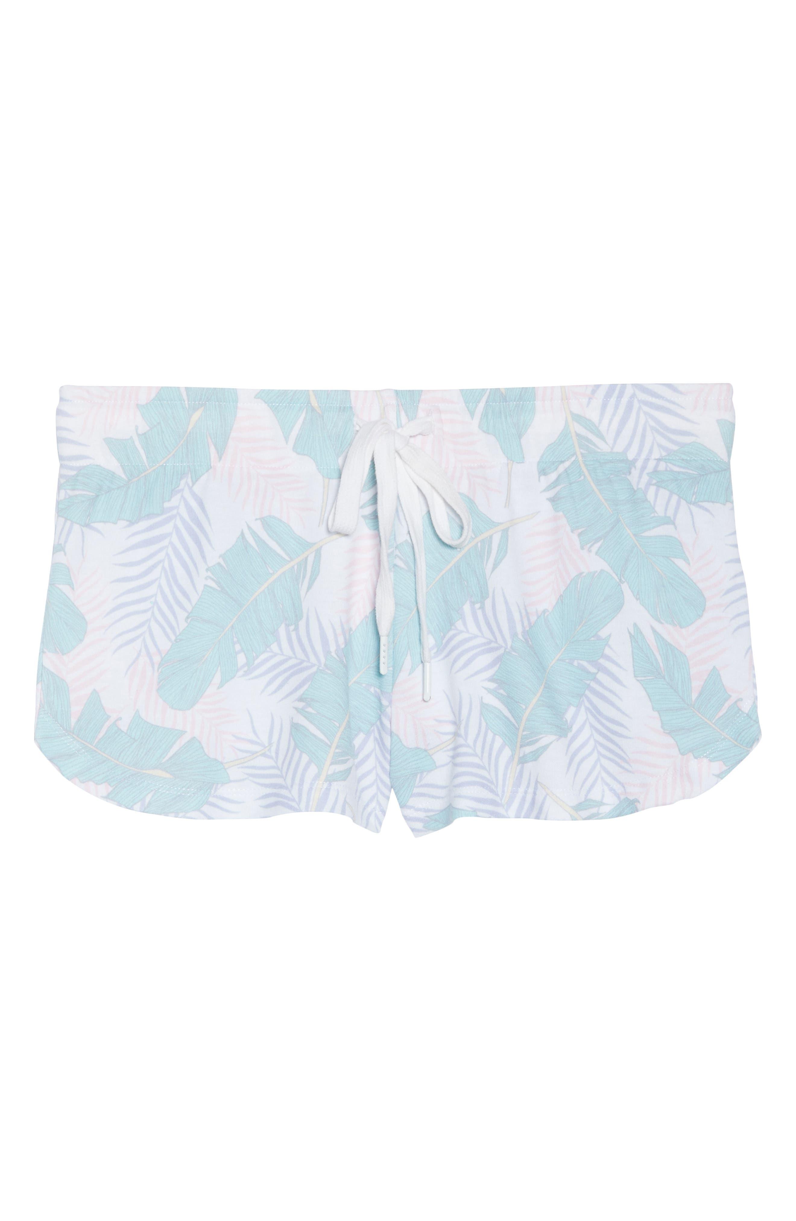 Lounge Shorts,                             Alternate thumbnail 4, color,                             White