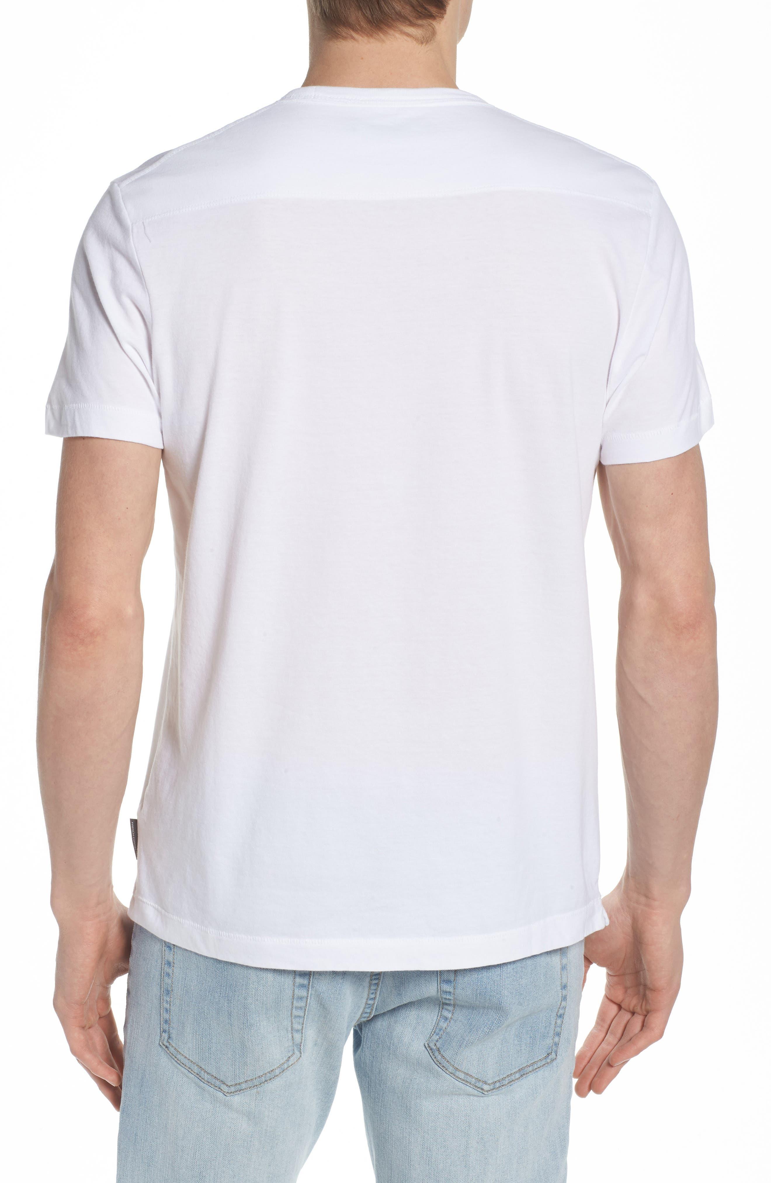 Crewneck Pocket T-Shirt,                             Alternate thumbnail 2, color,                             White