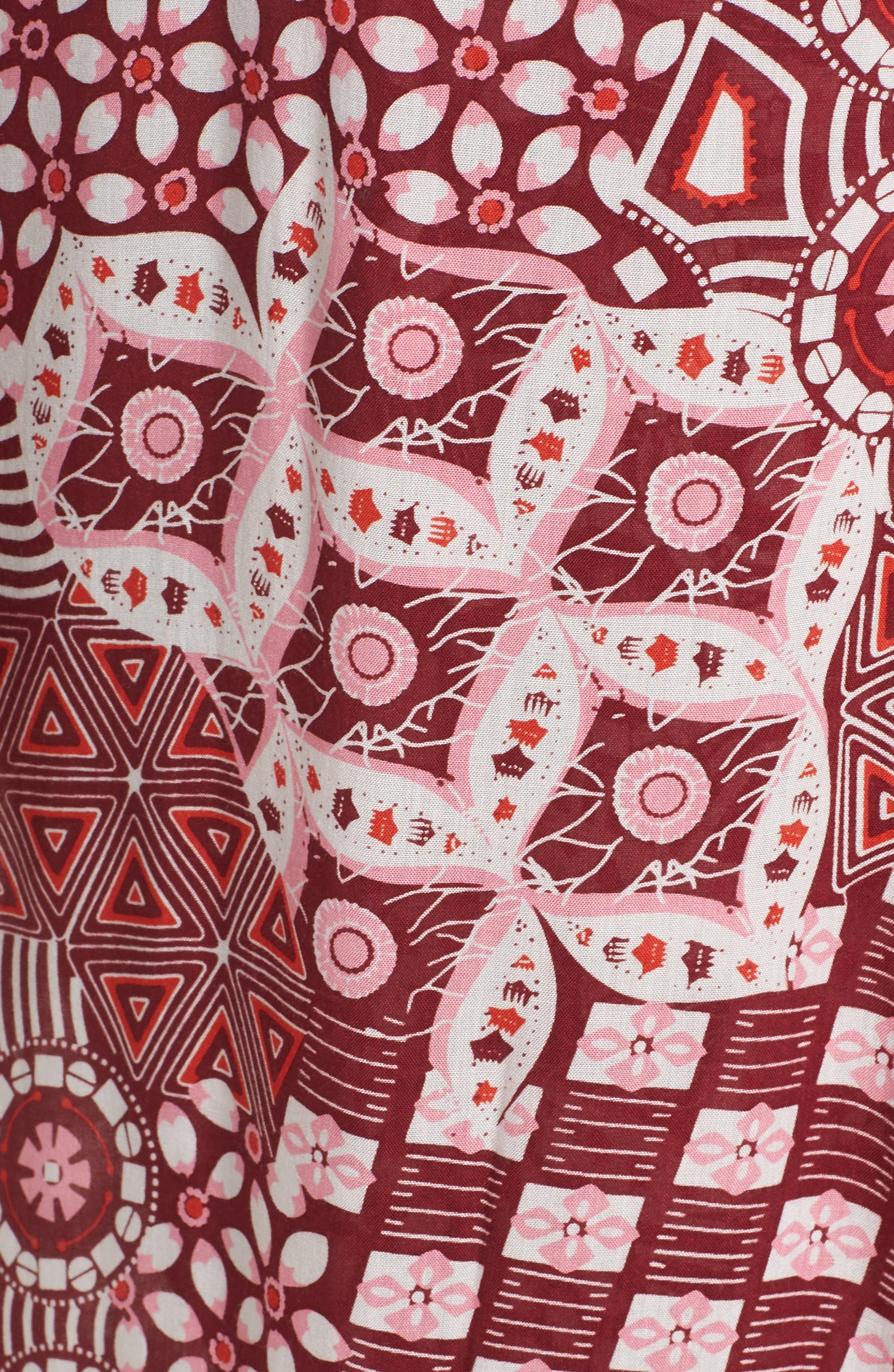 Poupette St. Barth Joe Cover-Up Maxi Dress,                             Alternate thumbnail 5, color,                             Pink Mali