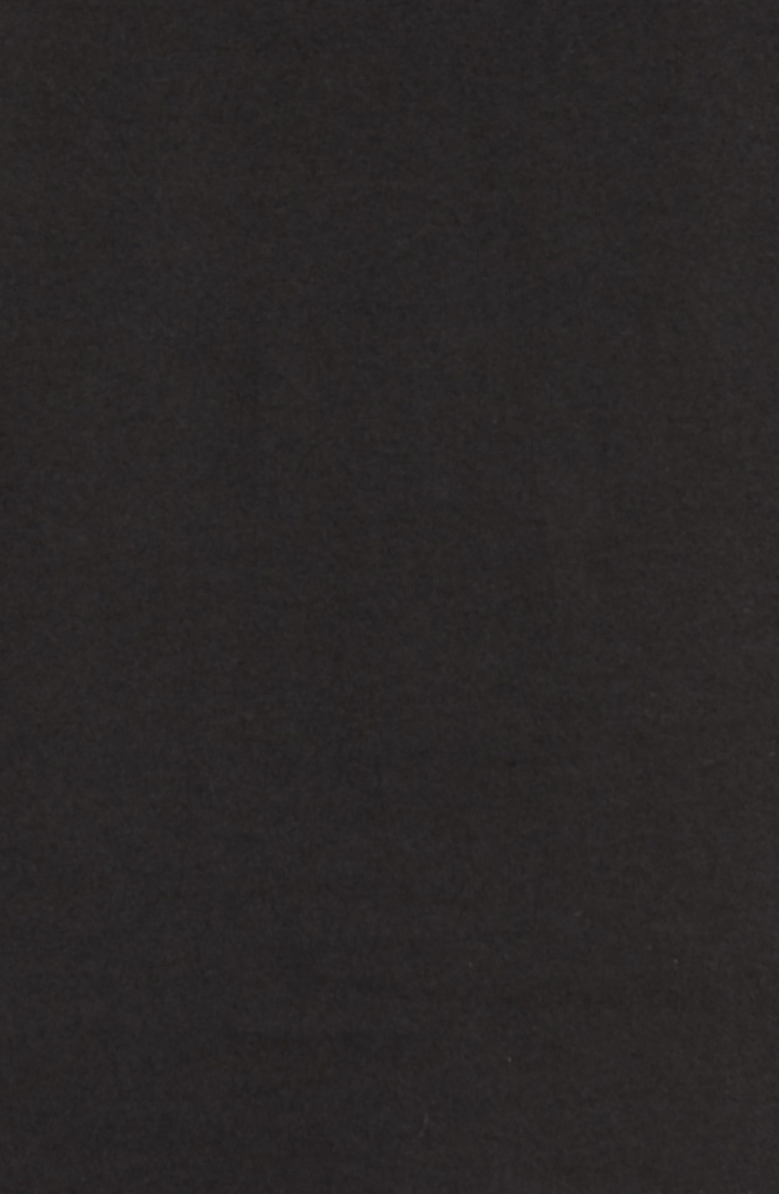 Embroidered Slash T-Shirt,                             Alternate thumbnail 5, color,                             Black