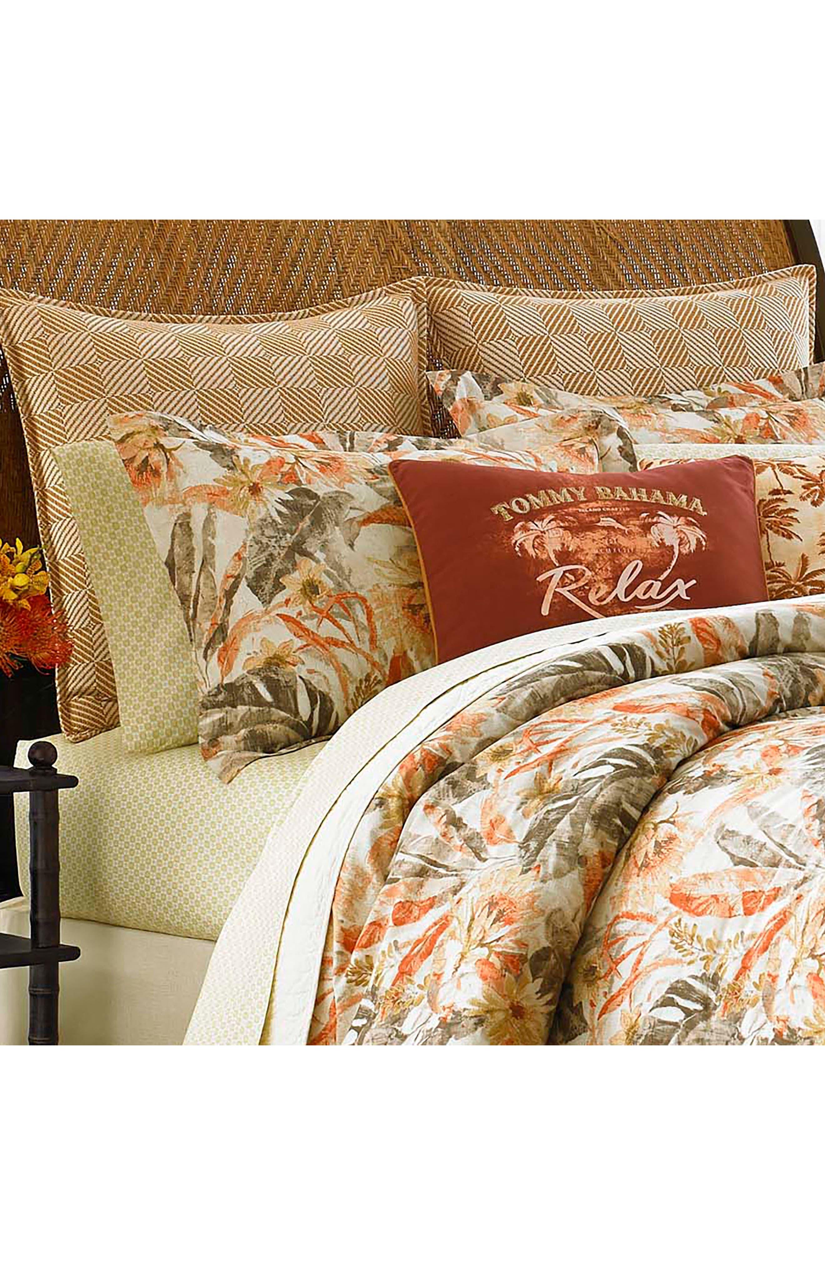 Kamari Print Accent Pillow,                             Alternate thumbnail 2, color,                             Medium Orange