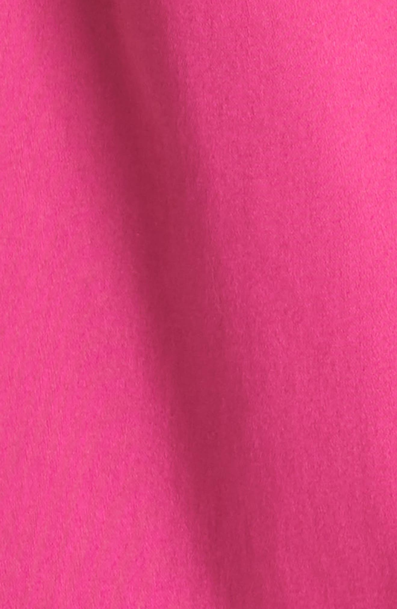 Daynaa Bow Shoulder Top,                             Alternate thumbnail 5, color,                             Fuchsia