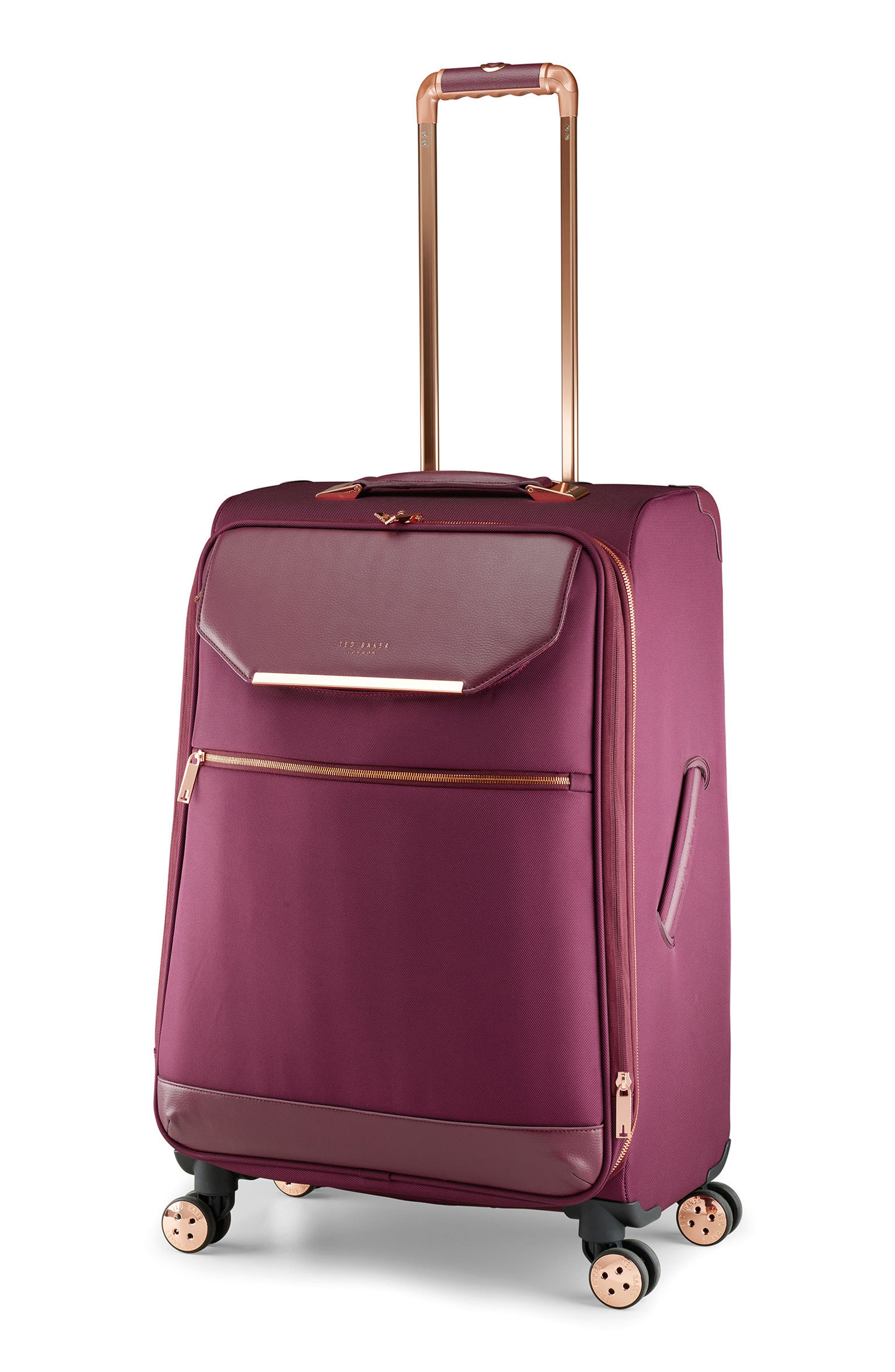 28-Inch Spinner Trolley Packing Case,                             Alternate thumbnail 3, color,                             Burgundy