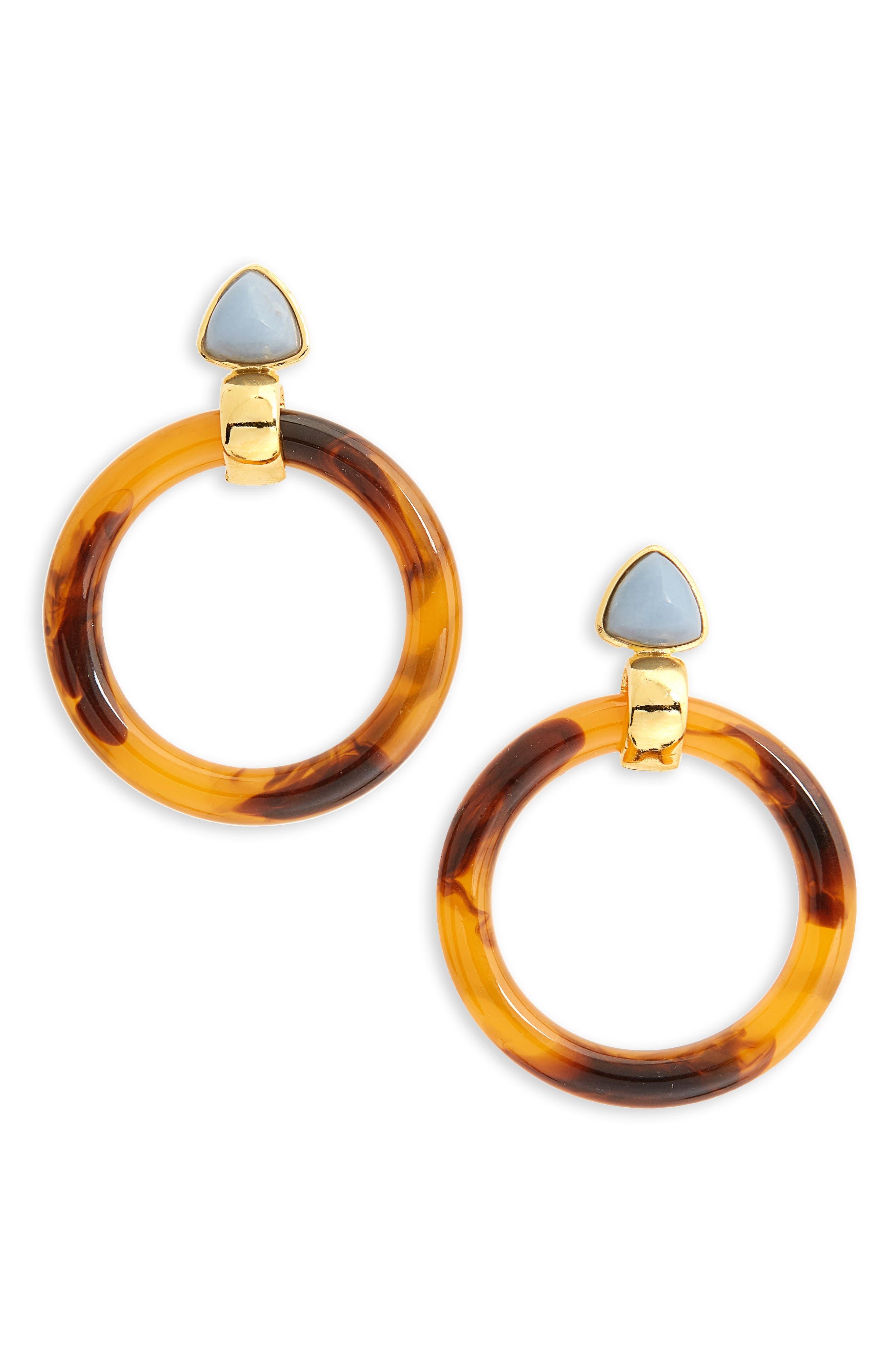 Lizzie Fortunato Sunset Hoop Earrings