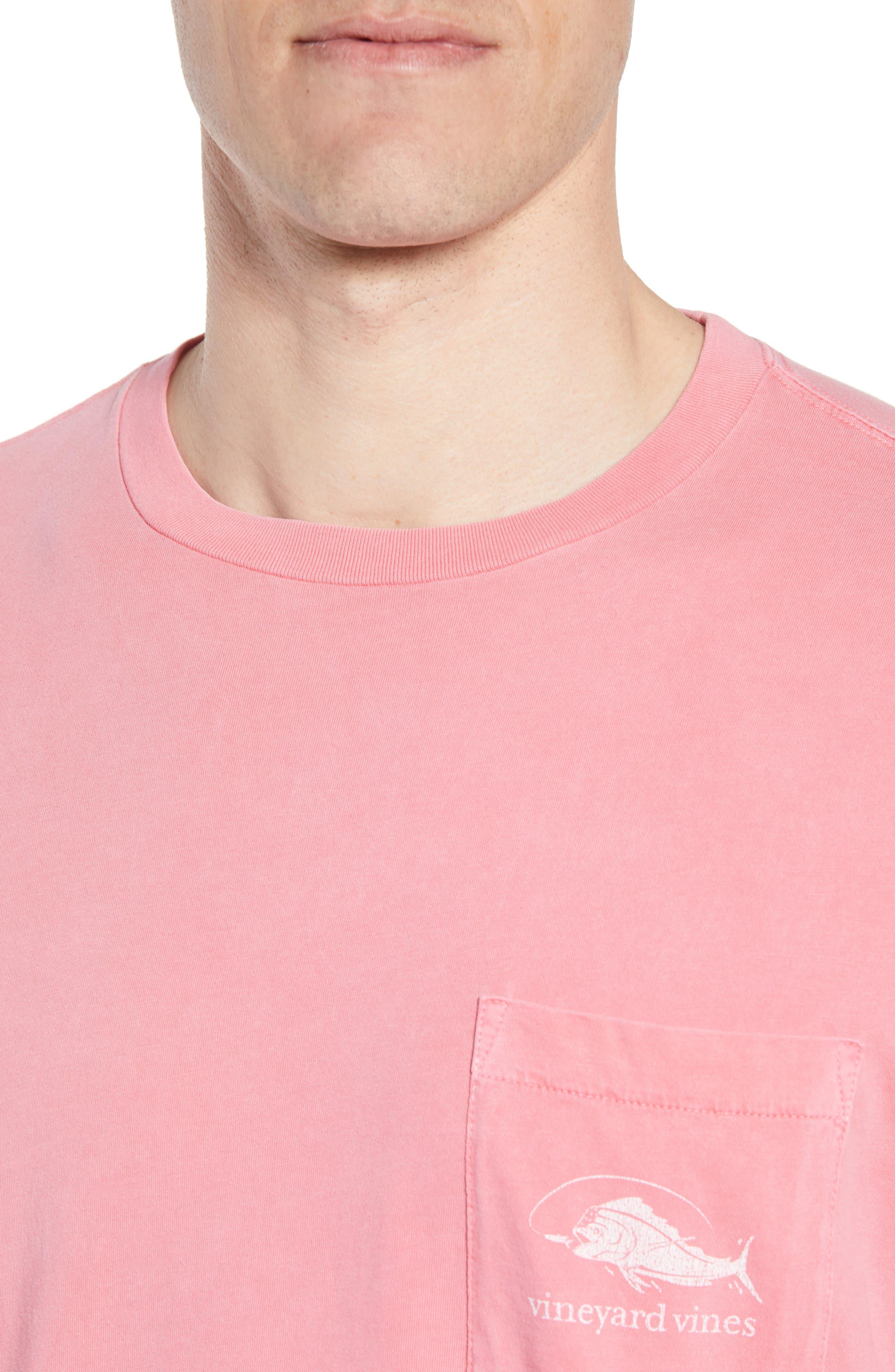 Vintage Mahi Regular Fit Crewneck T-Shirt,                             Alternate thumbnail 4, color,                             Jetty Red