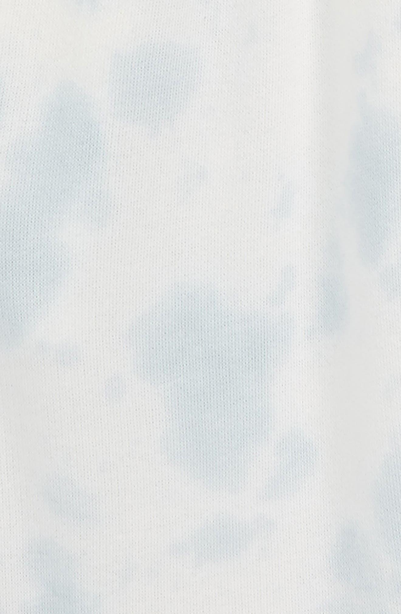 Tie Dye Shorts,                             Alternate thumbnail 2, color,                             Blue Fog Tie Dye