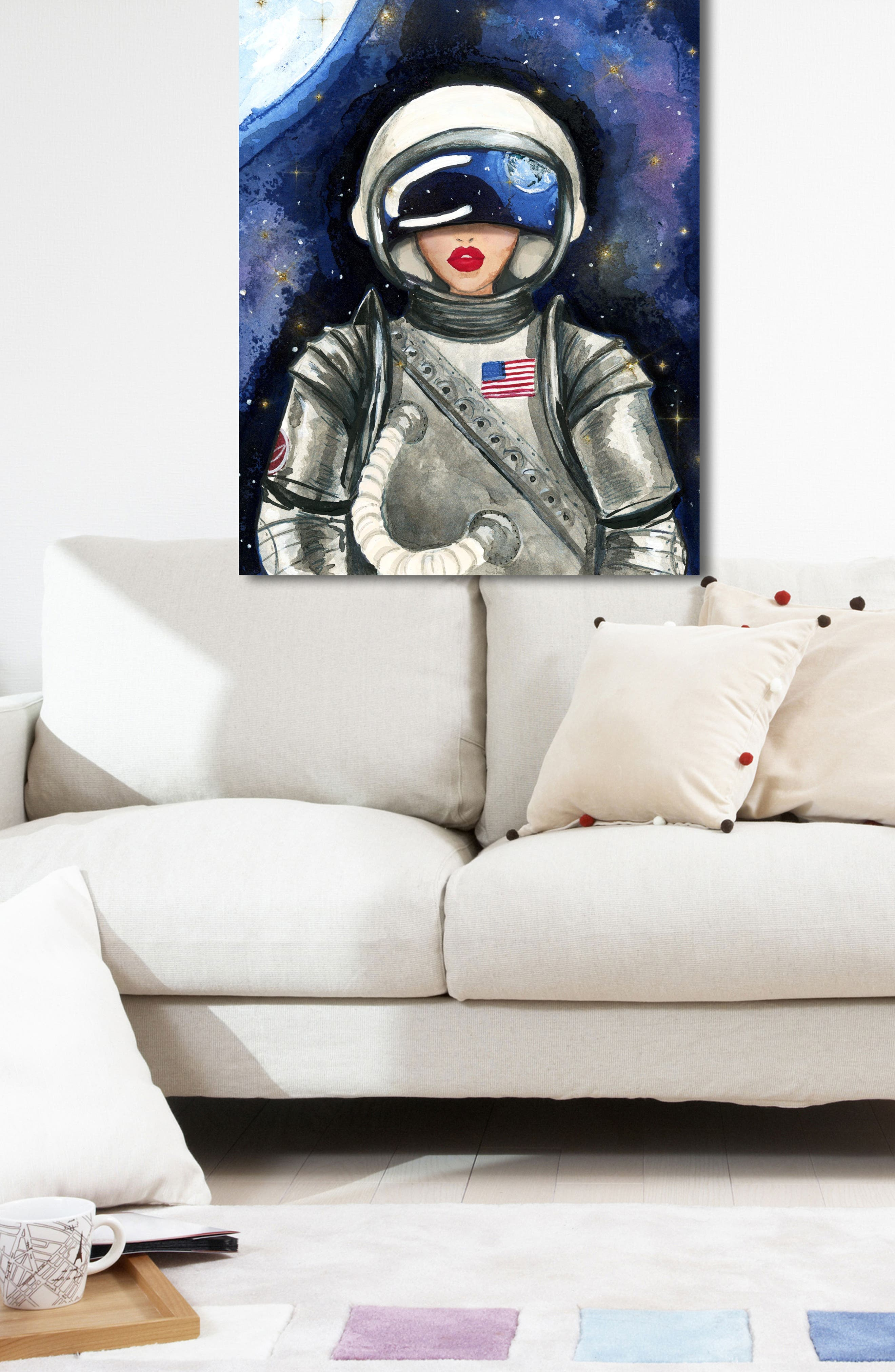 Alternate Image 4  - Oliver Gal Astronaut Canvas Wall Art