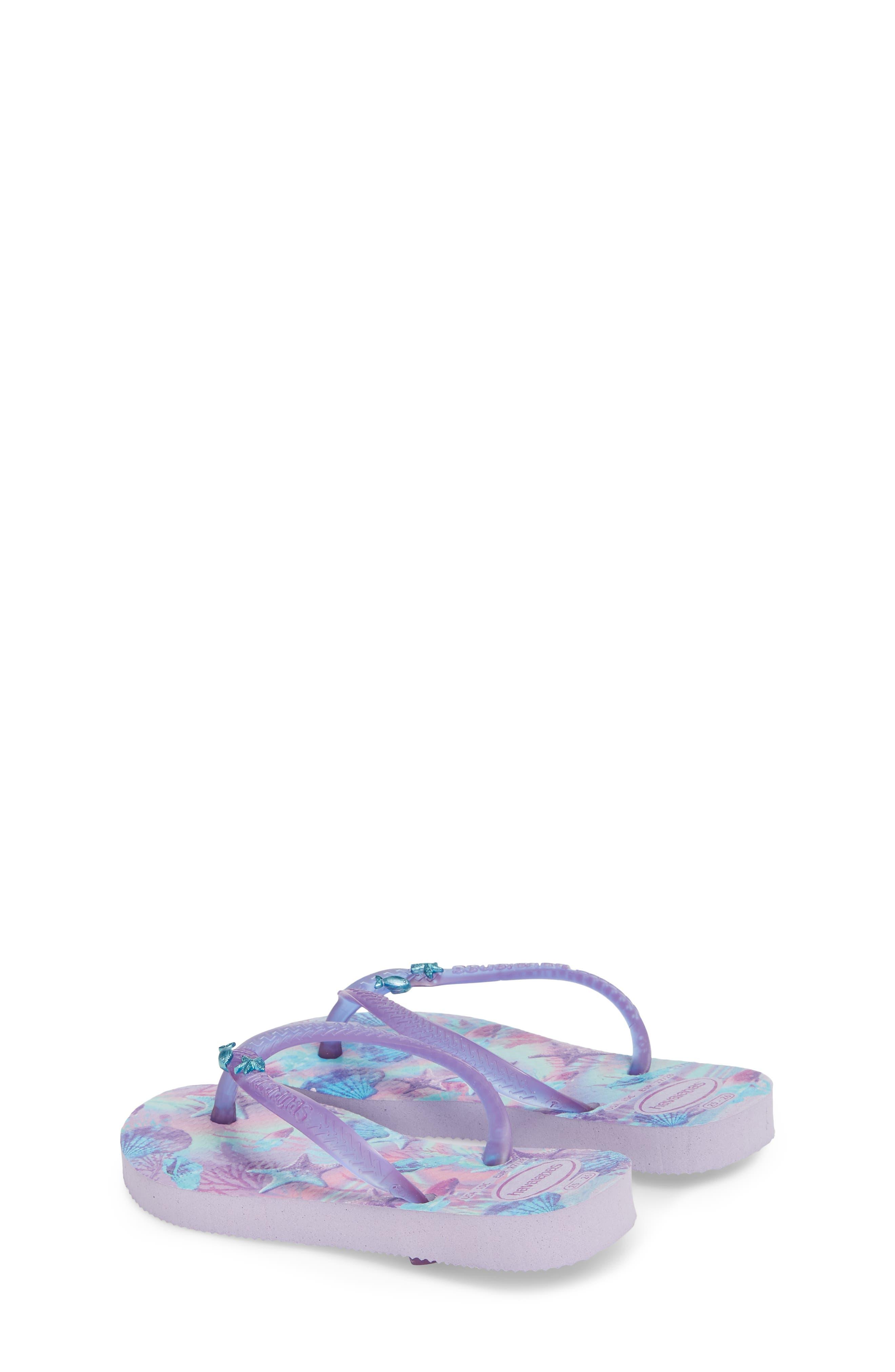 Havianas Slim Summer Flip Flop,                             Alternate thumbnail 2, color,                             Lavender