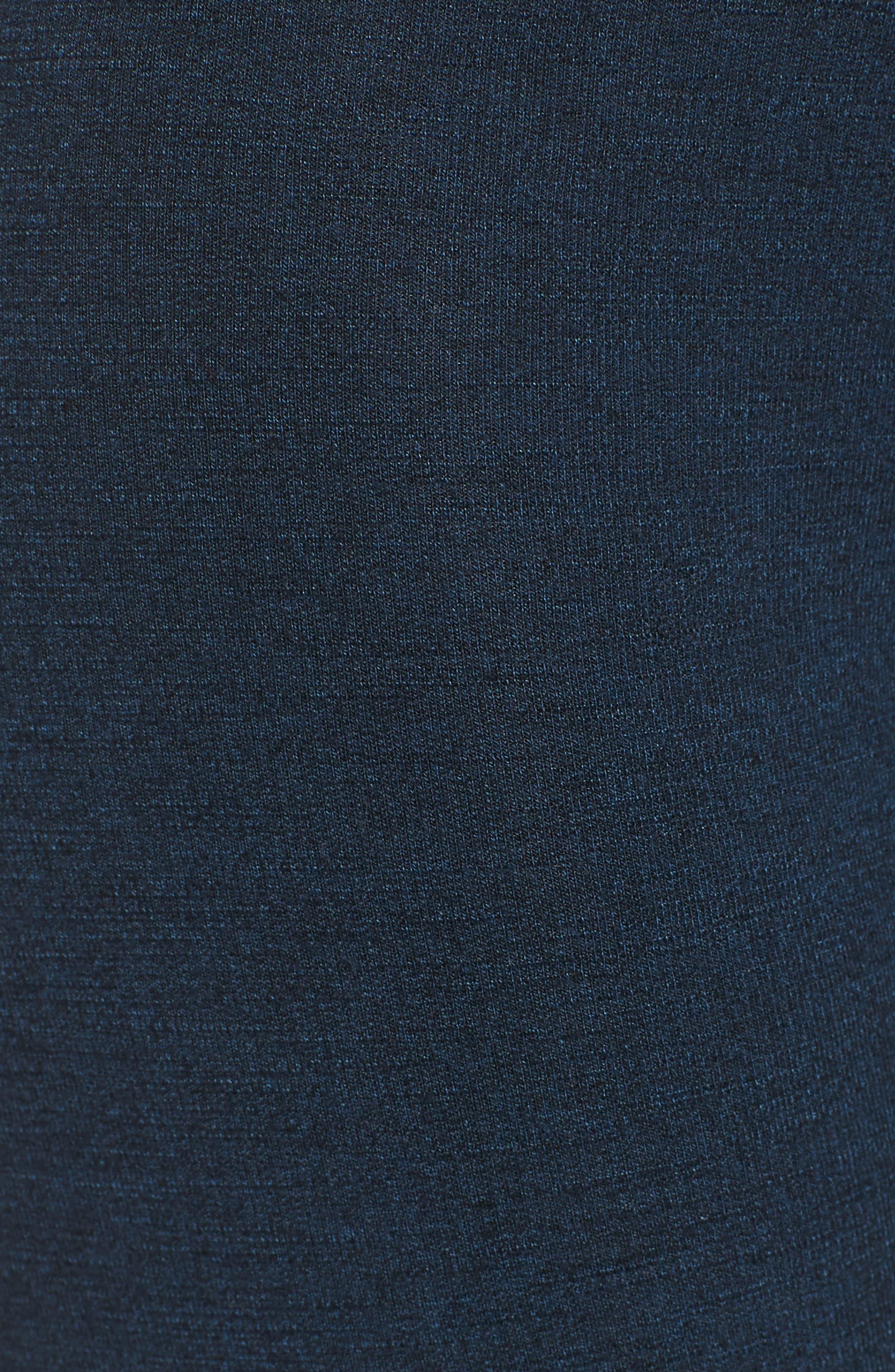 Stripe Yoga Pants,                             Alternate thumbnail 6, color,                             Storm