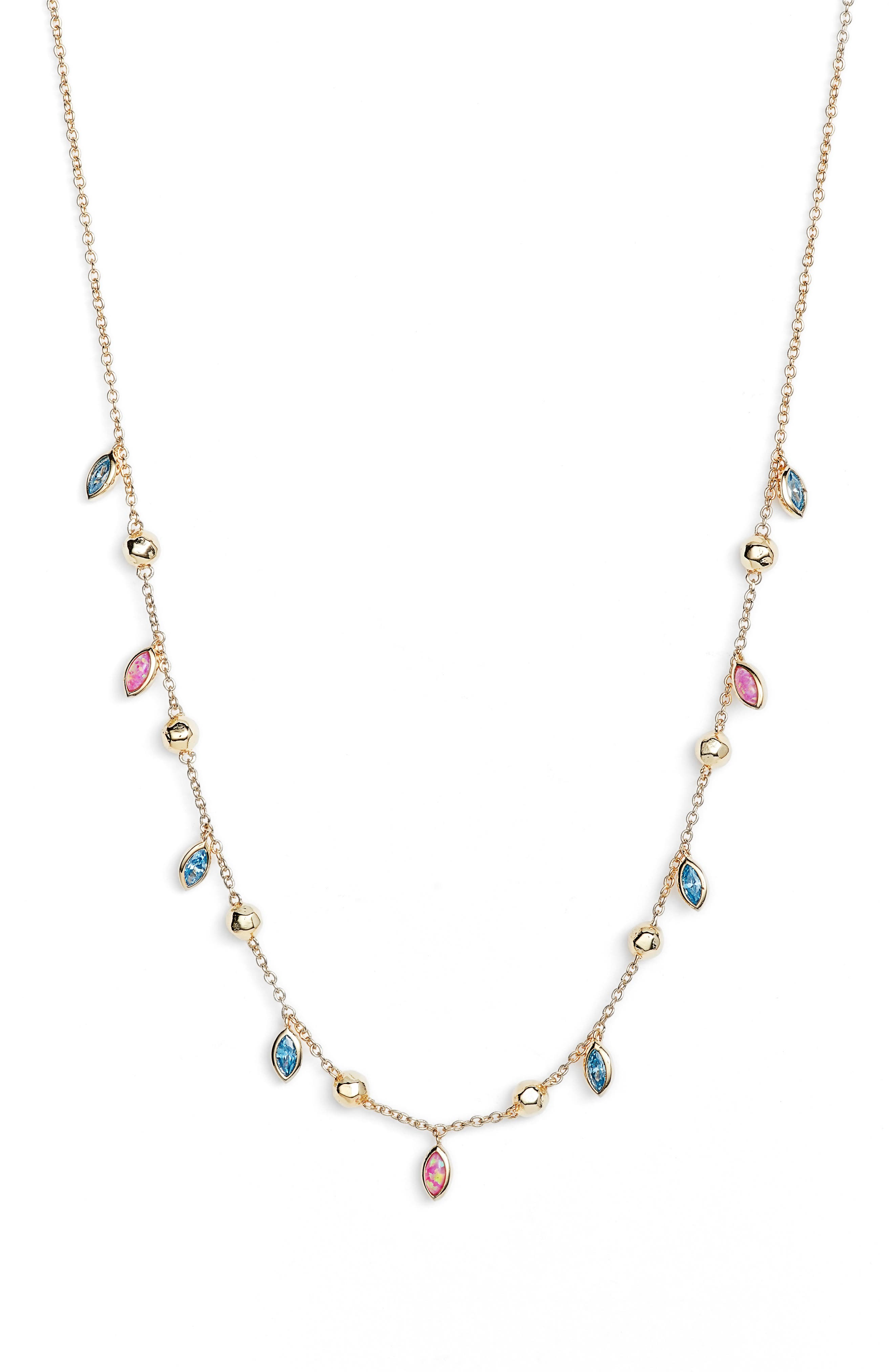 Gorjana Rumi Confetti Adjustable Necklace 9T9oPX