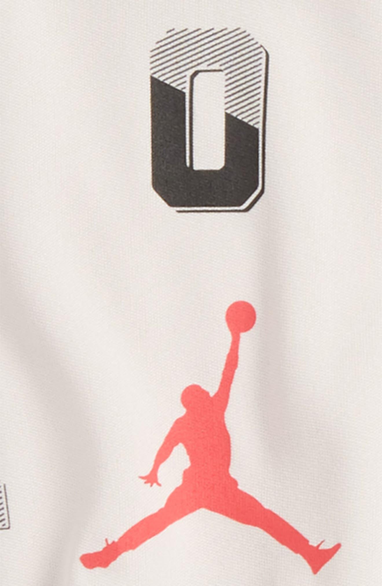 Alternate Image 2  - Jordan 23 T-Shirt & Shorts Set (Baby Boys)