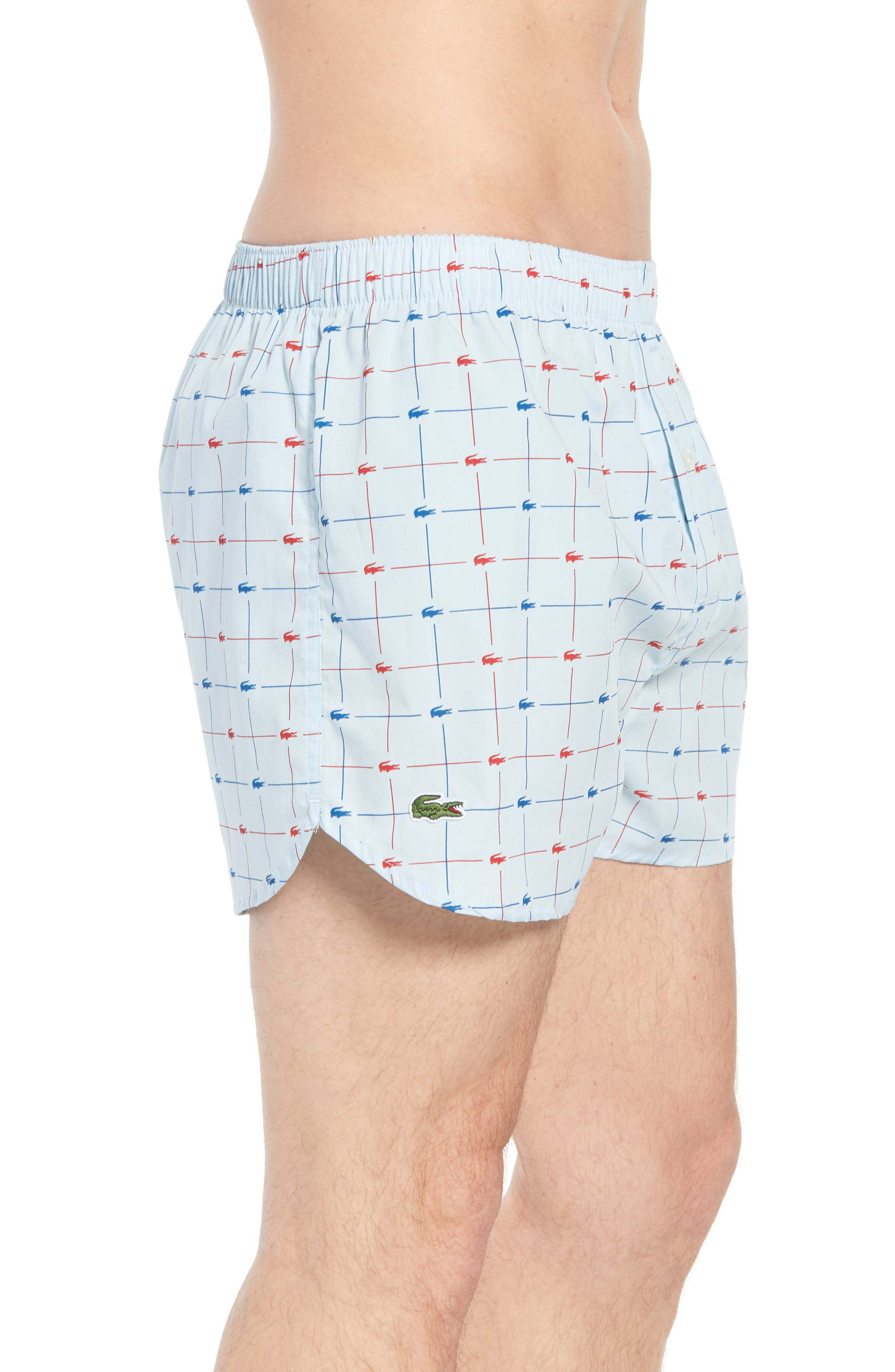 Cotton Boxers,                             Alternate thumbnail 3, color,                             Omphalodes