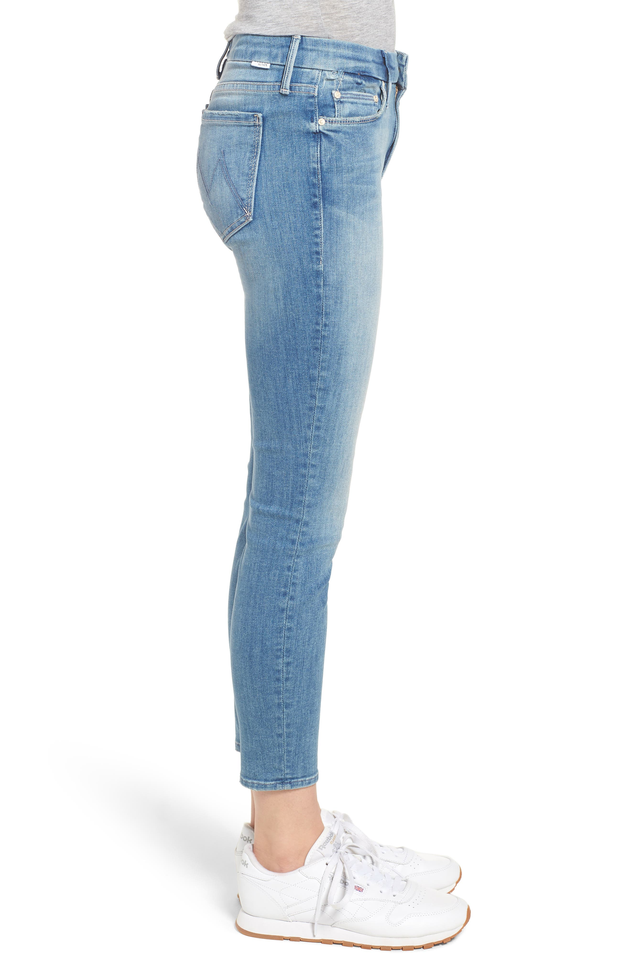 The Looker Crop Skinny Jeans,                             Alternate thumbnail 3, color,                             Well Played