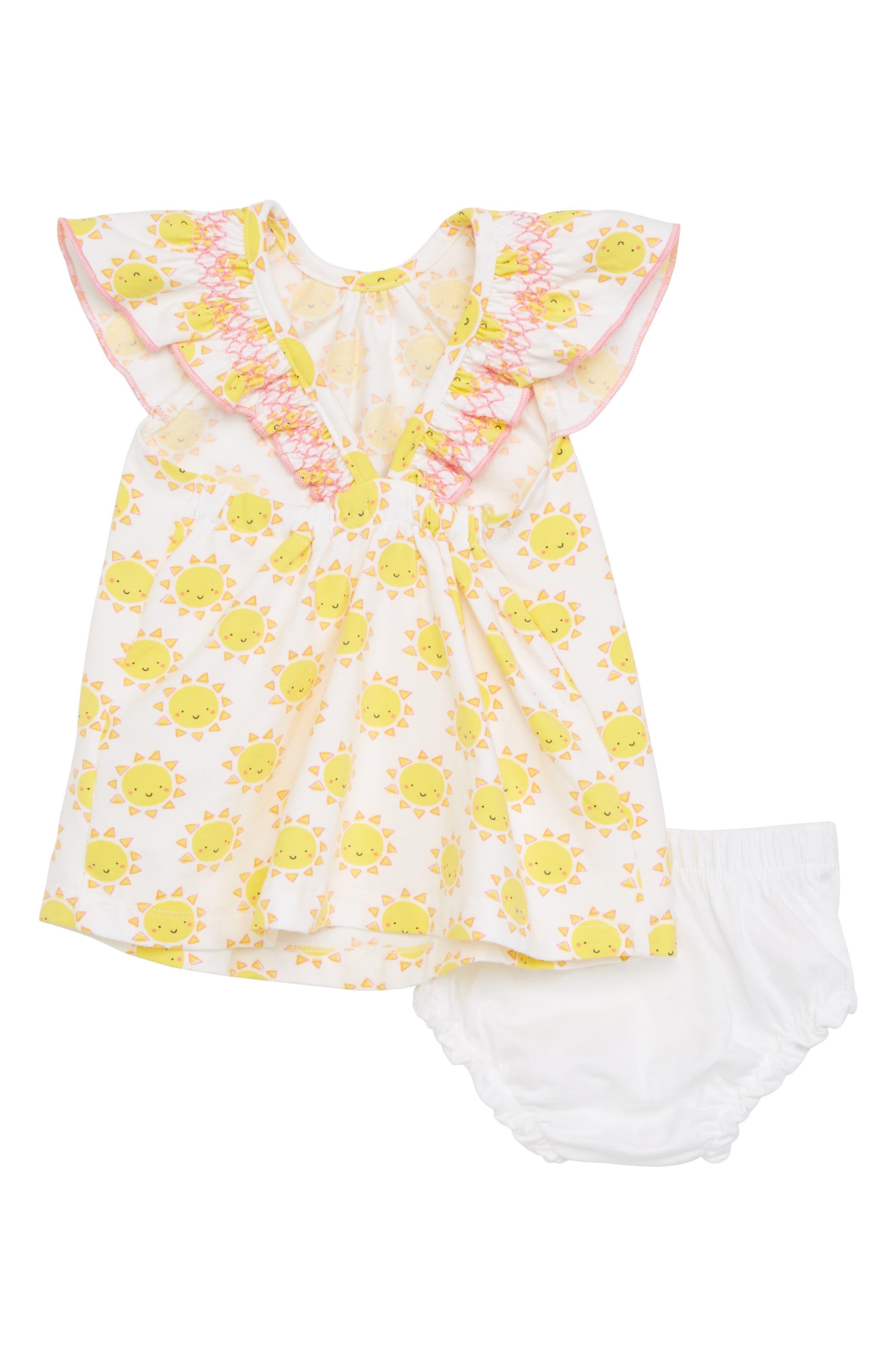 Merry Sunshine Dress,                             Alternate thumbnail 3, color,                             Merry Sunshine