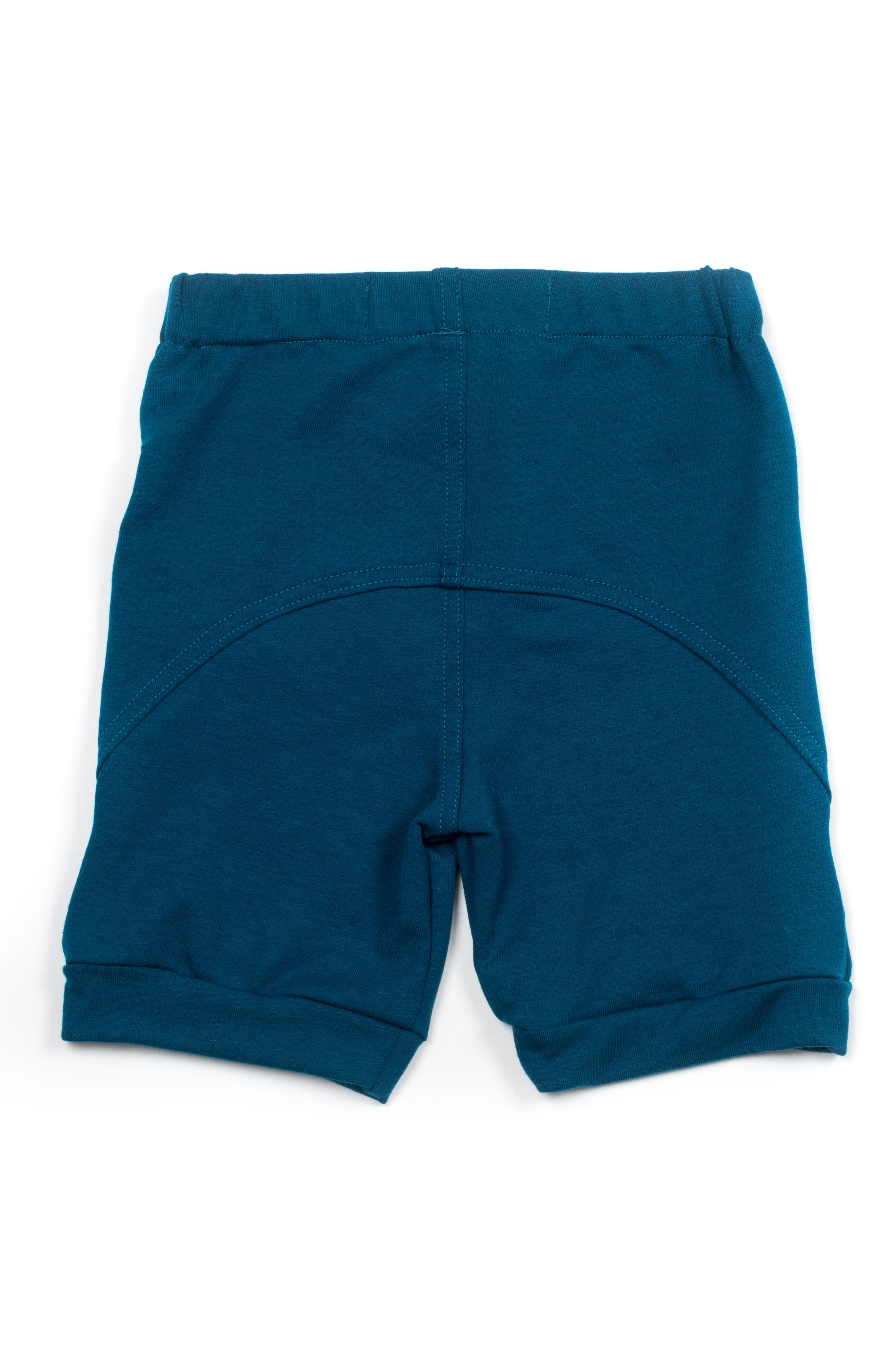 Two-Panel Shorts,                             Alternate thumbnail 2, color,                             Moroccan Blue