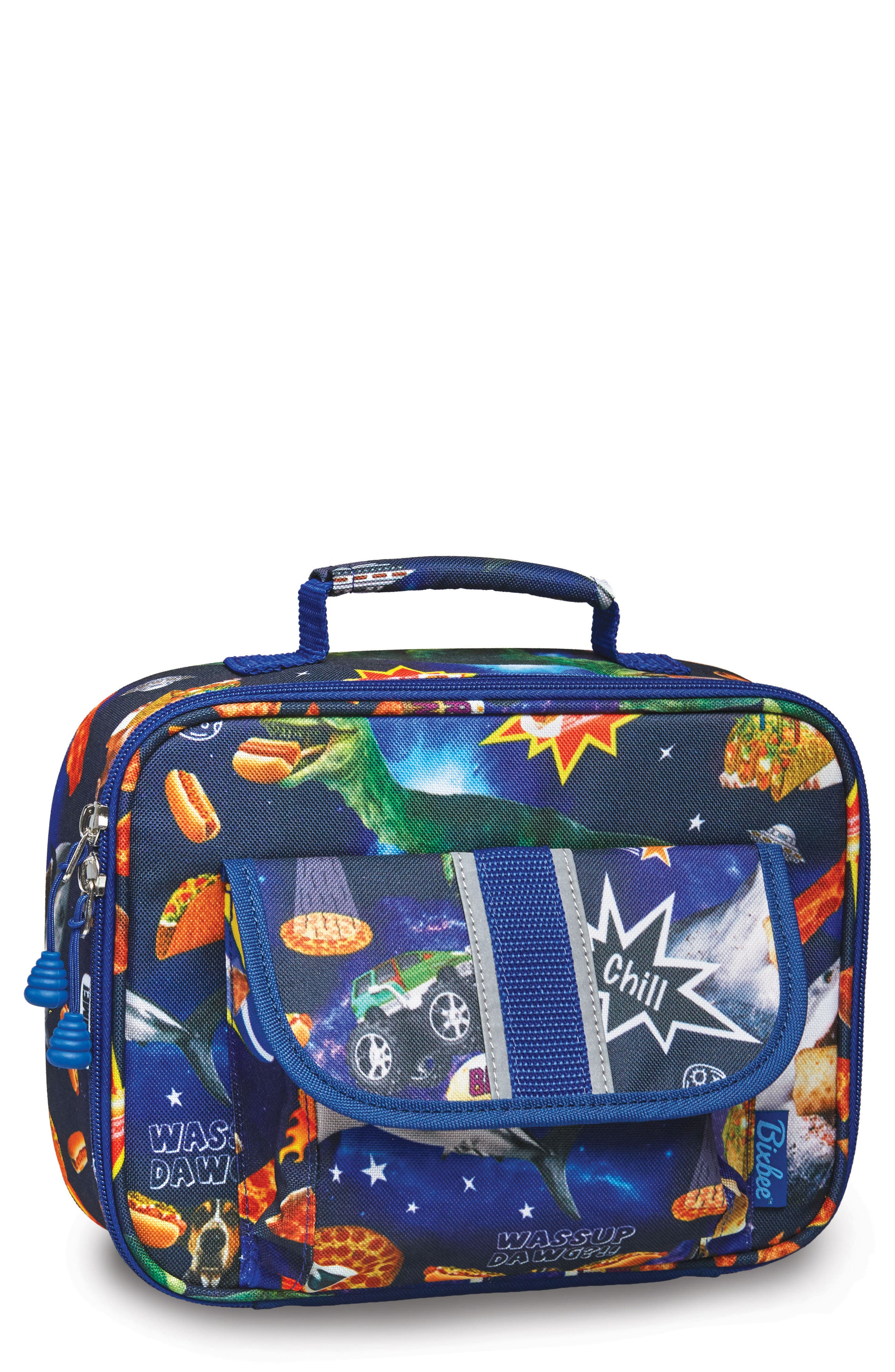 Bixbee Space Odyssey Water Resistant Lunchbox (Kids)
