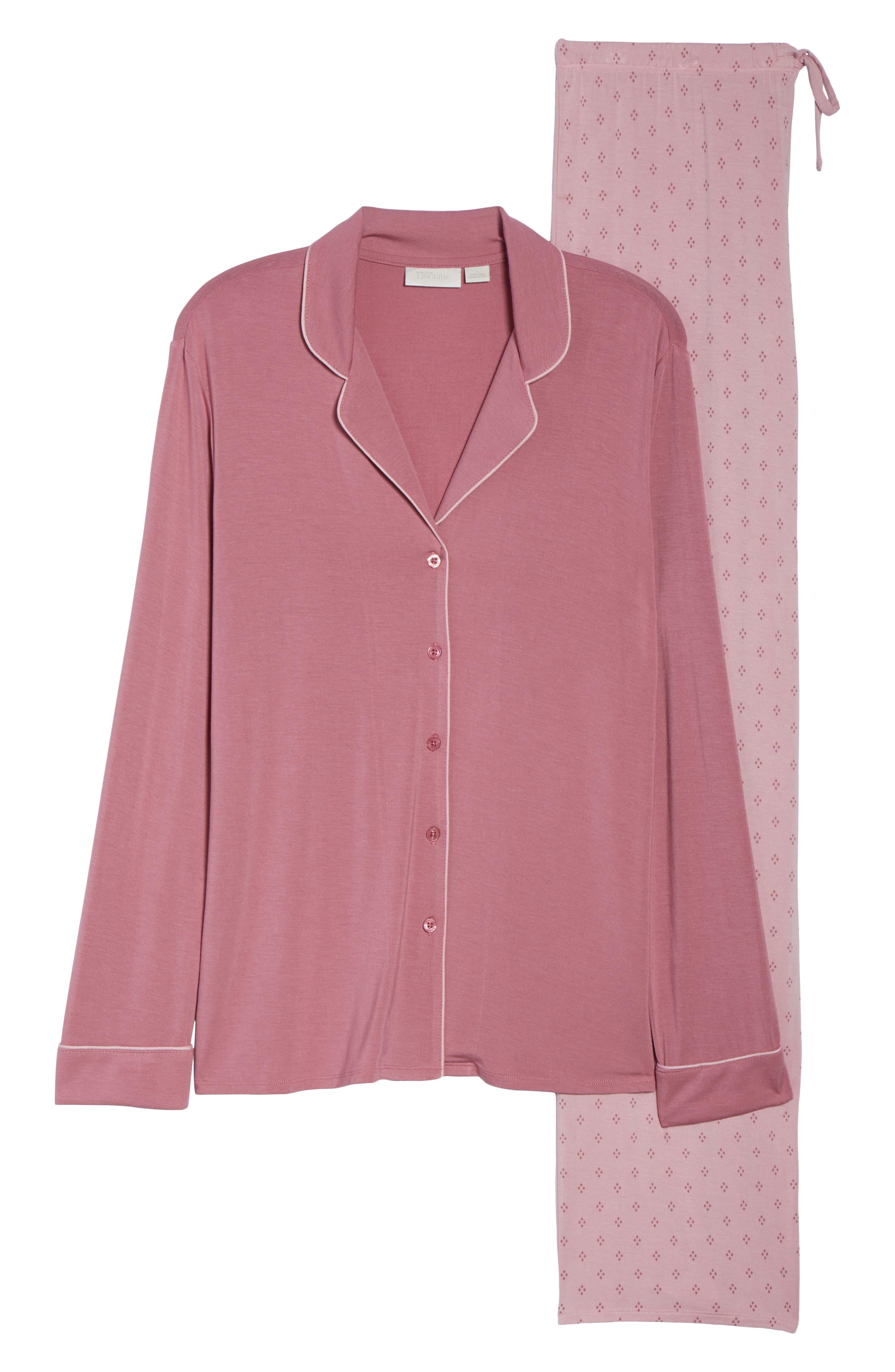 Moonlight Pajamas,                             Alternate thumbnail 6, color,                             Purple Mesa Geo Diamond