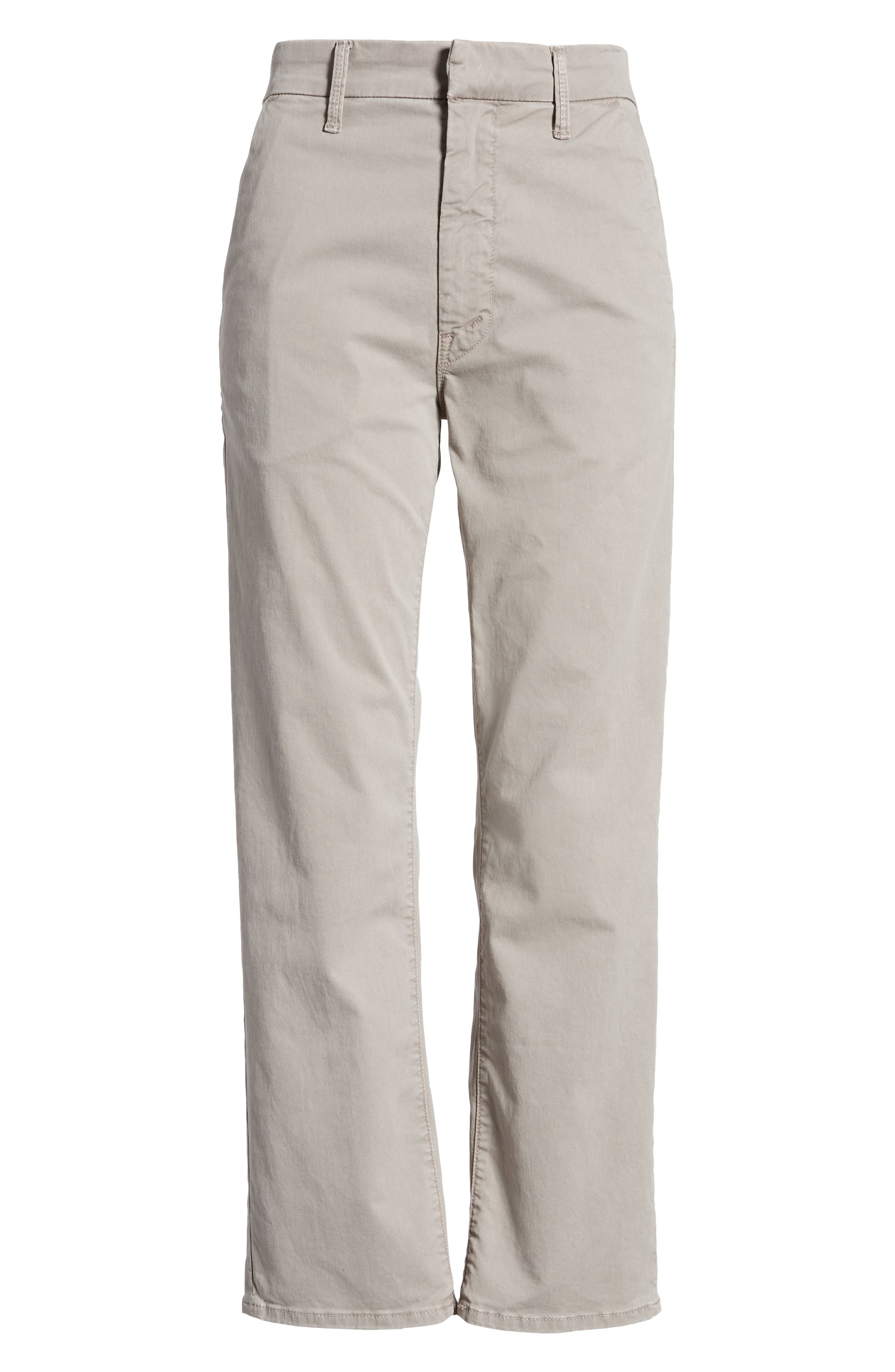 The Tomcat Prep Crop Twill Pants,                             Alternate thumbnail 7, color,                             Cement
