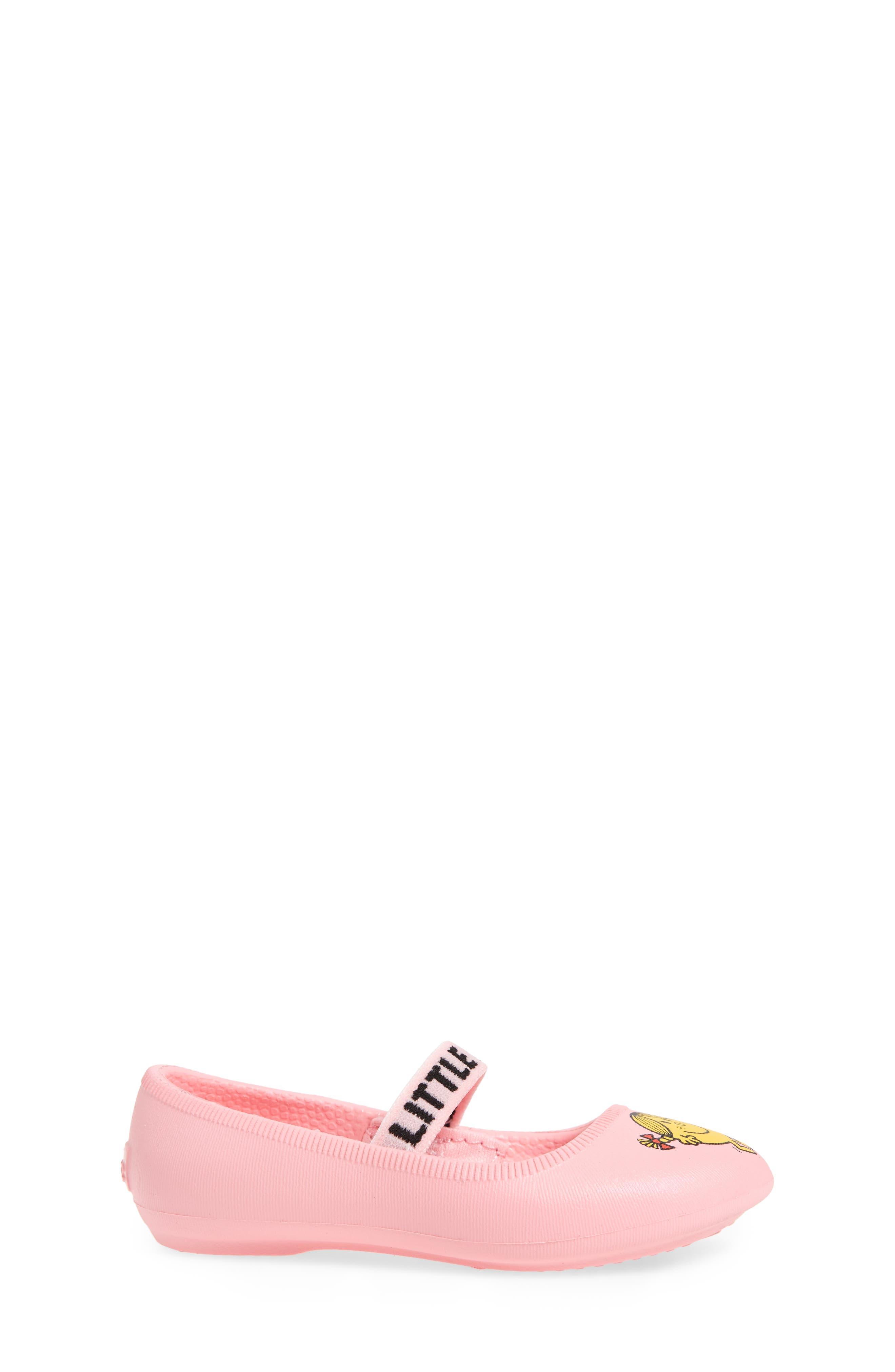 Margot Mary Jane Flat,                             Alternate thumbnail 4, color,                             Pink/ Little Miss Sunshine