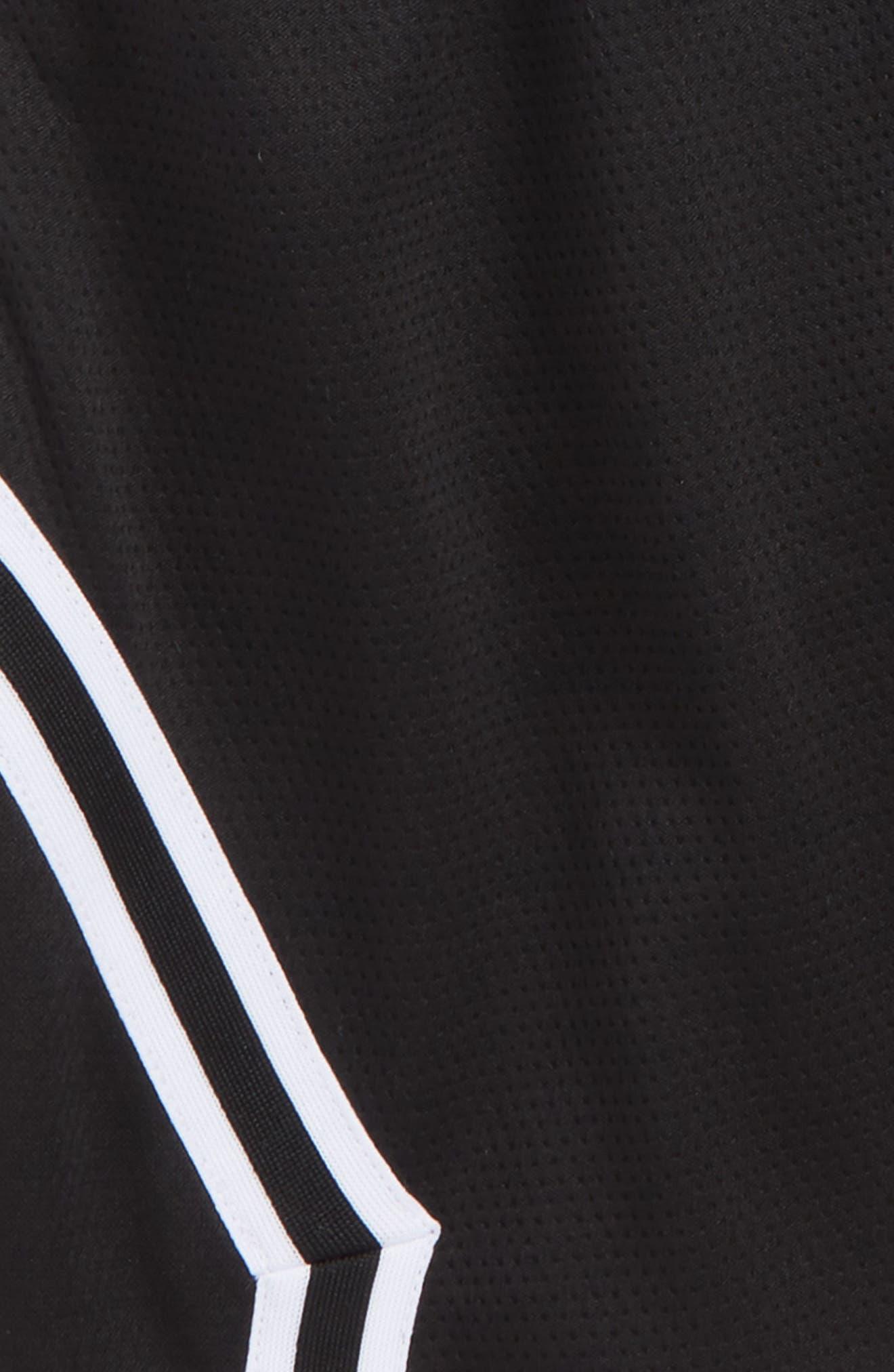 Jordan Rise Diamond Dri-FIT Basketball Shorts,                             Alternate thumbnail 2, color,                             Black