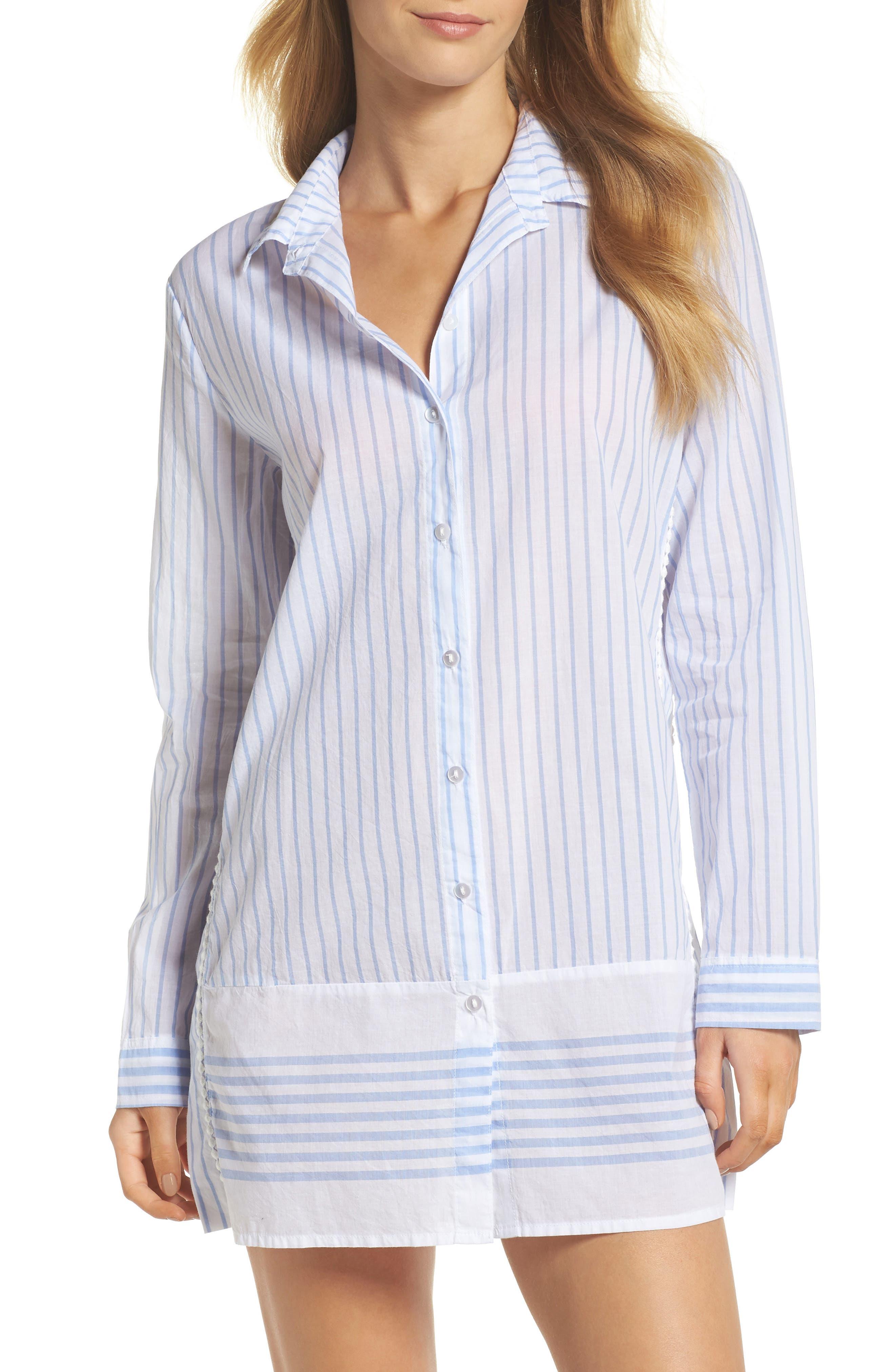 PJ Salvage Stripe Nightshirt