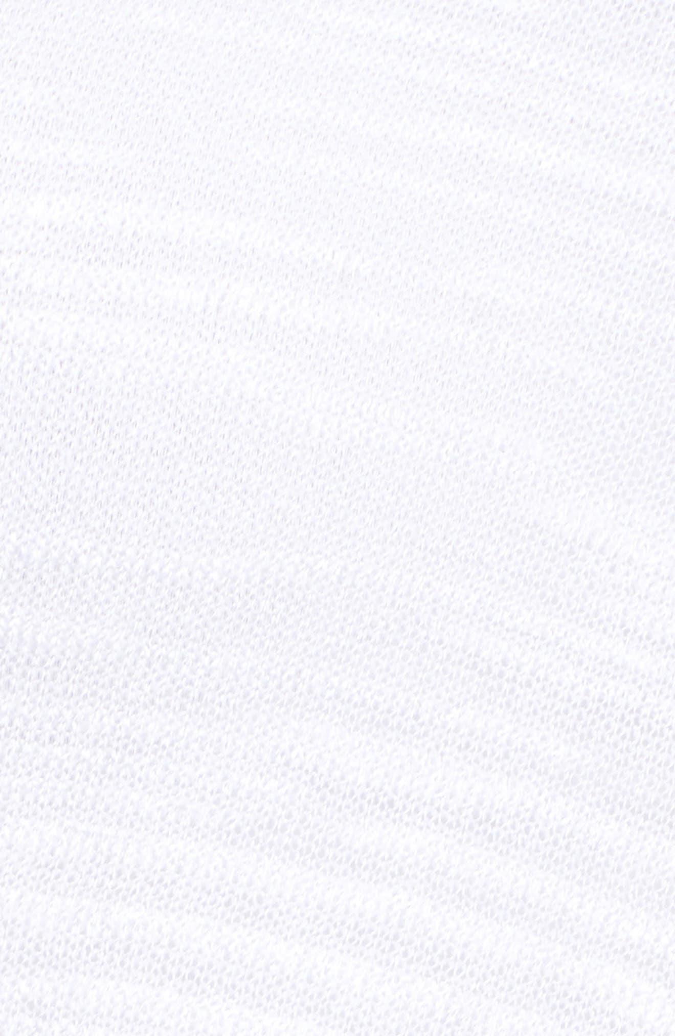 Cliff Dive Cardigan,                             Alternate thumbnail 5, color,                             Paper White