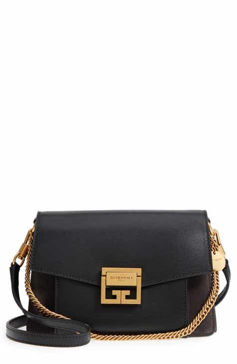 a3b2d9816b5b Givenchy Small GV3 Leather   Suede Crossbody Bag