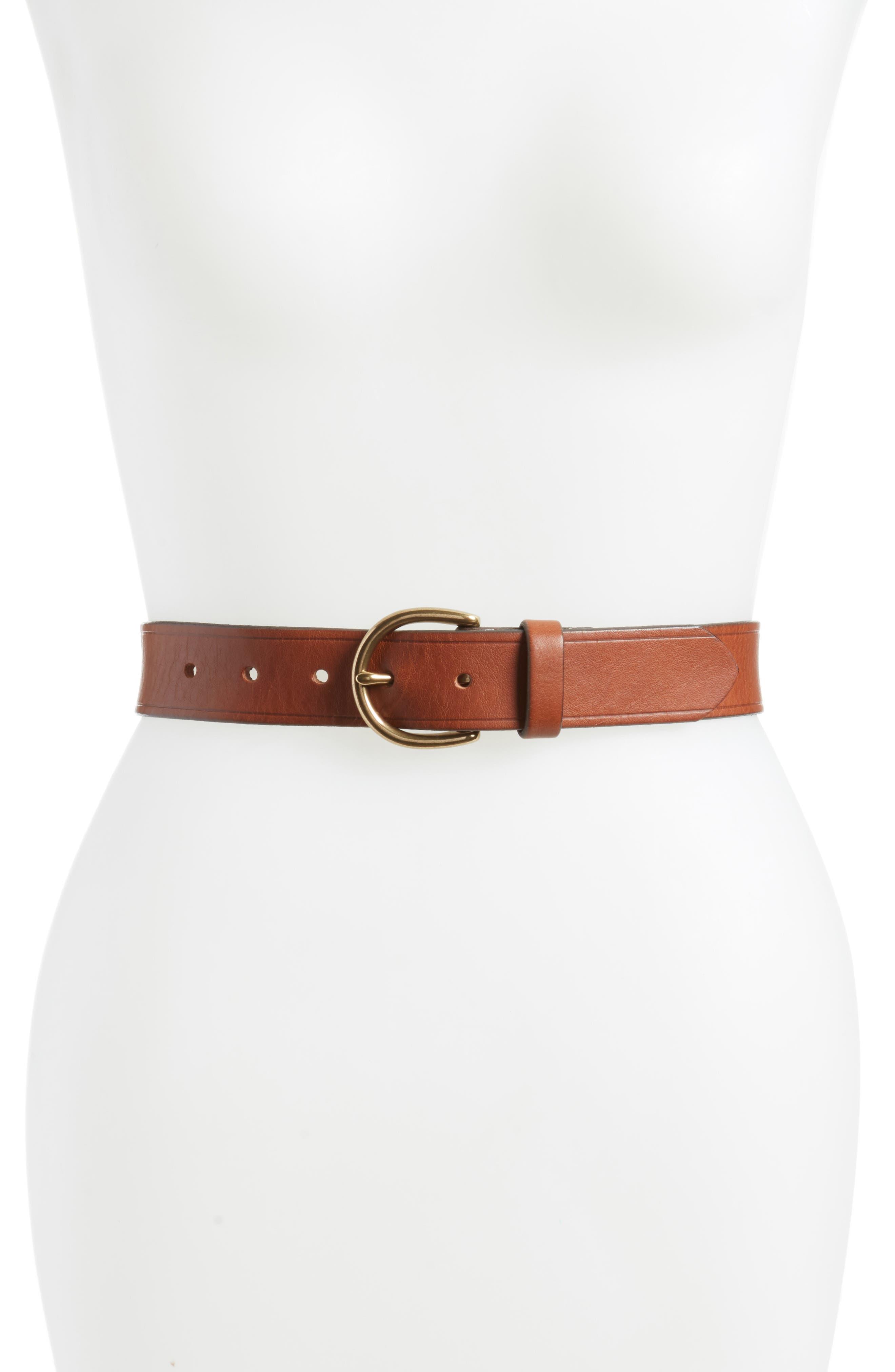 Madewell Medium Perfect Leather Hip Belt