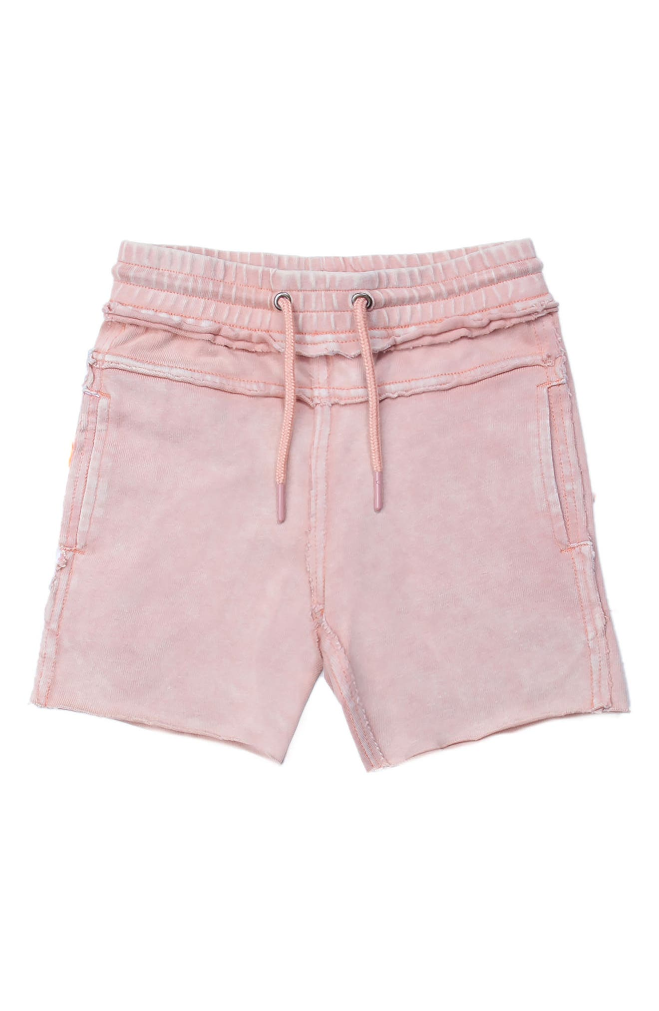 Kirk Distressed Shorts,                         Main,                         color, Pink