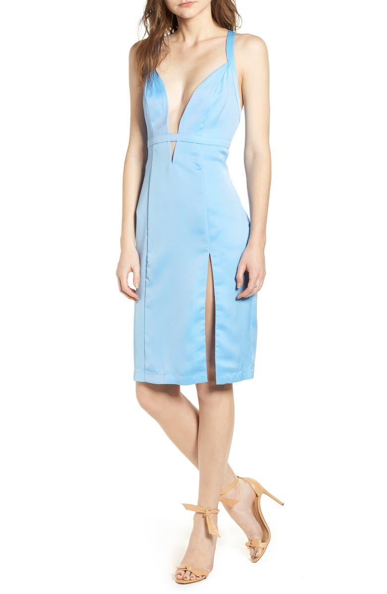 Offense Sheath Dress
