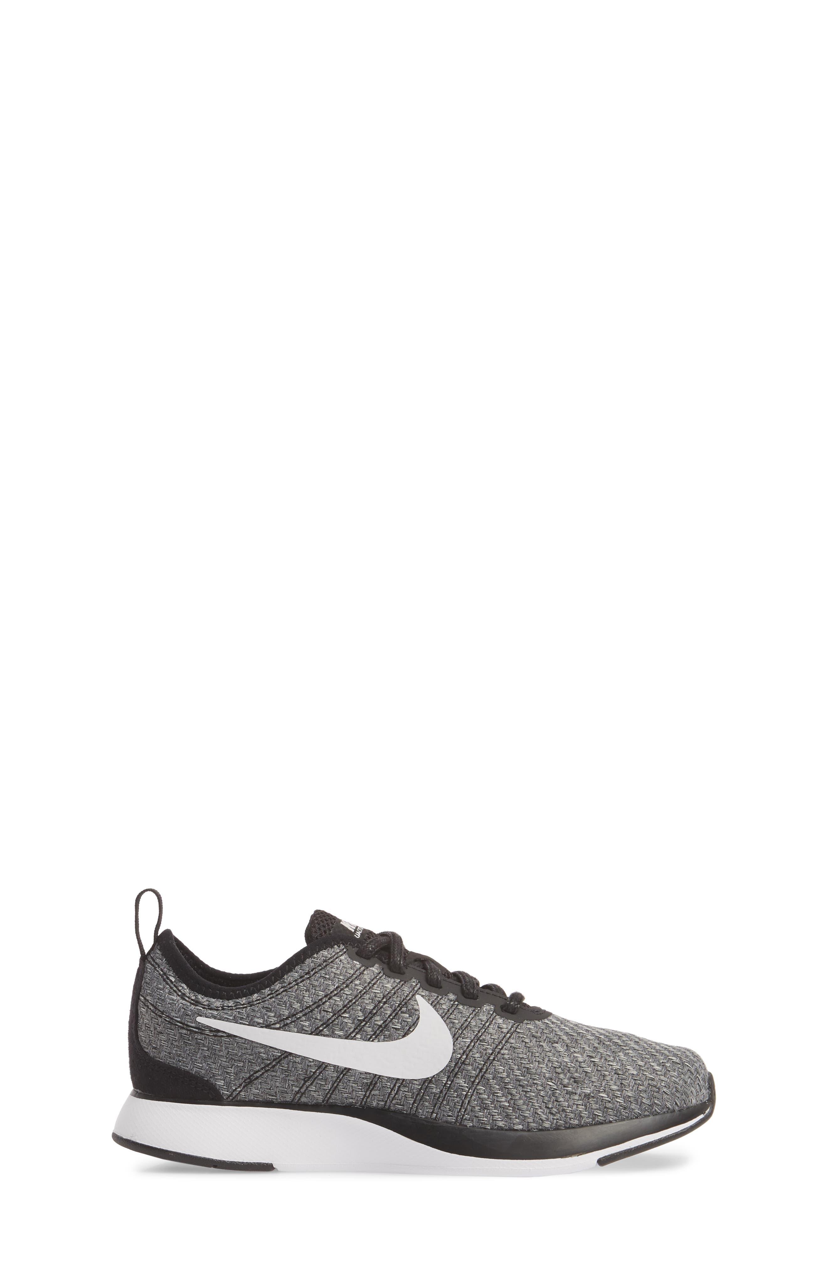 Dualtone Racer SE Sneaker,                             Alternate thumbnail 3, color,                             Black/ Vast Grey/ White