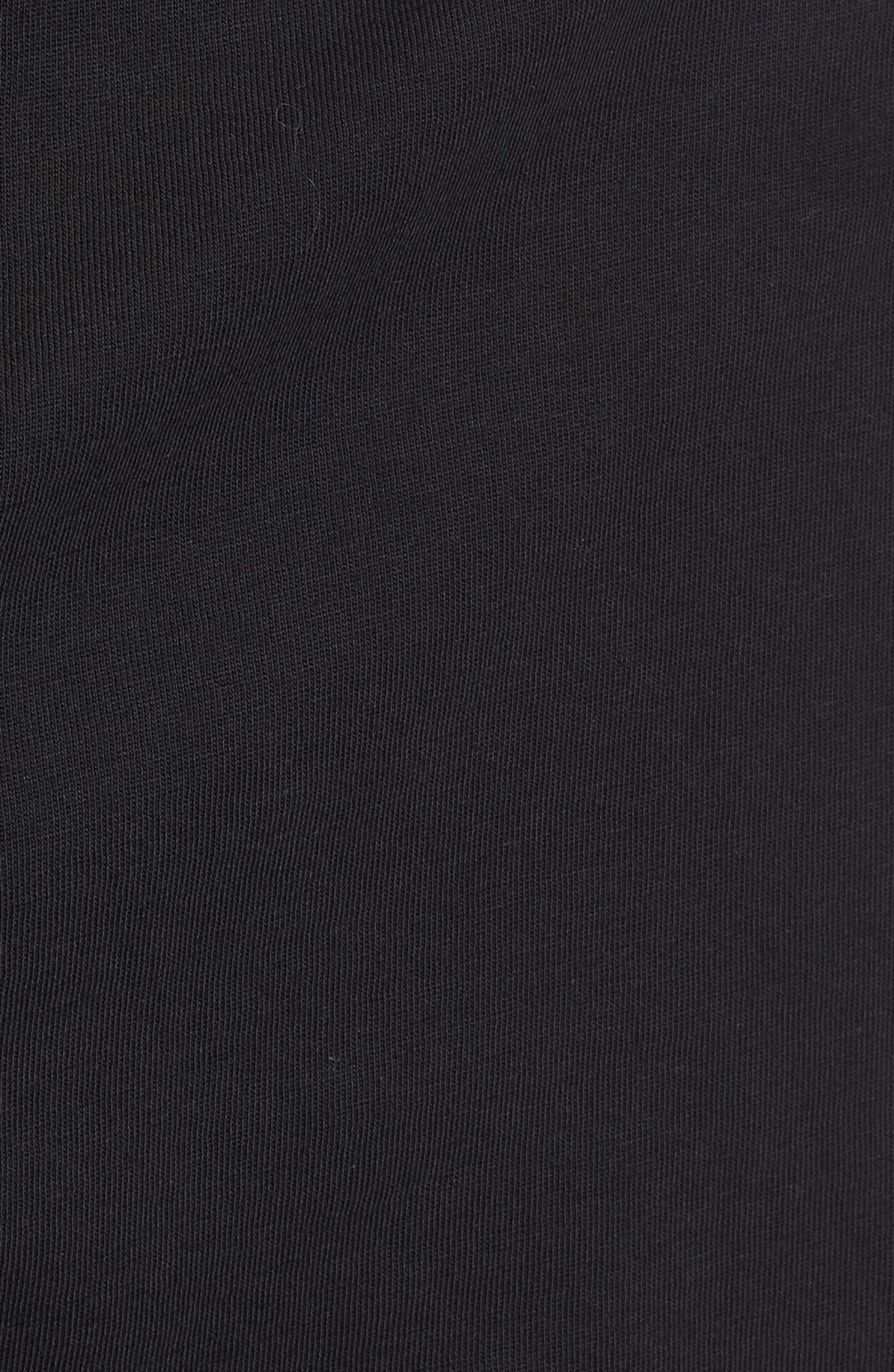 3-Pack Knit Boxers,                             Alternate thumbnail 5, color,                             Black