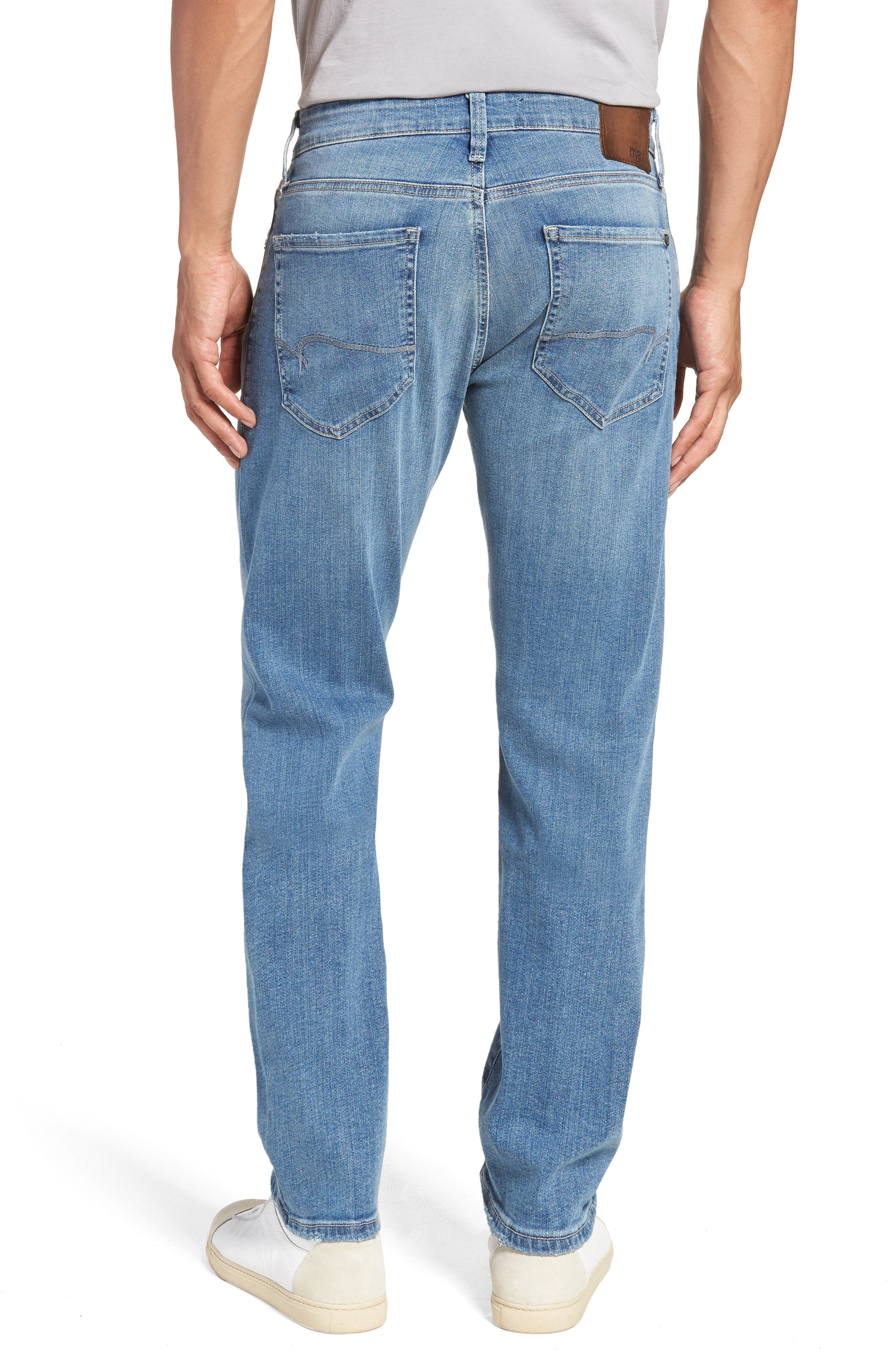 Jake Slim Fit Jeans,                             Alternate thumbnail 2, color,                             Light Blue Willamsburg