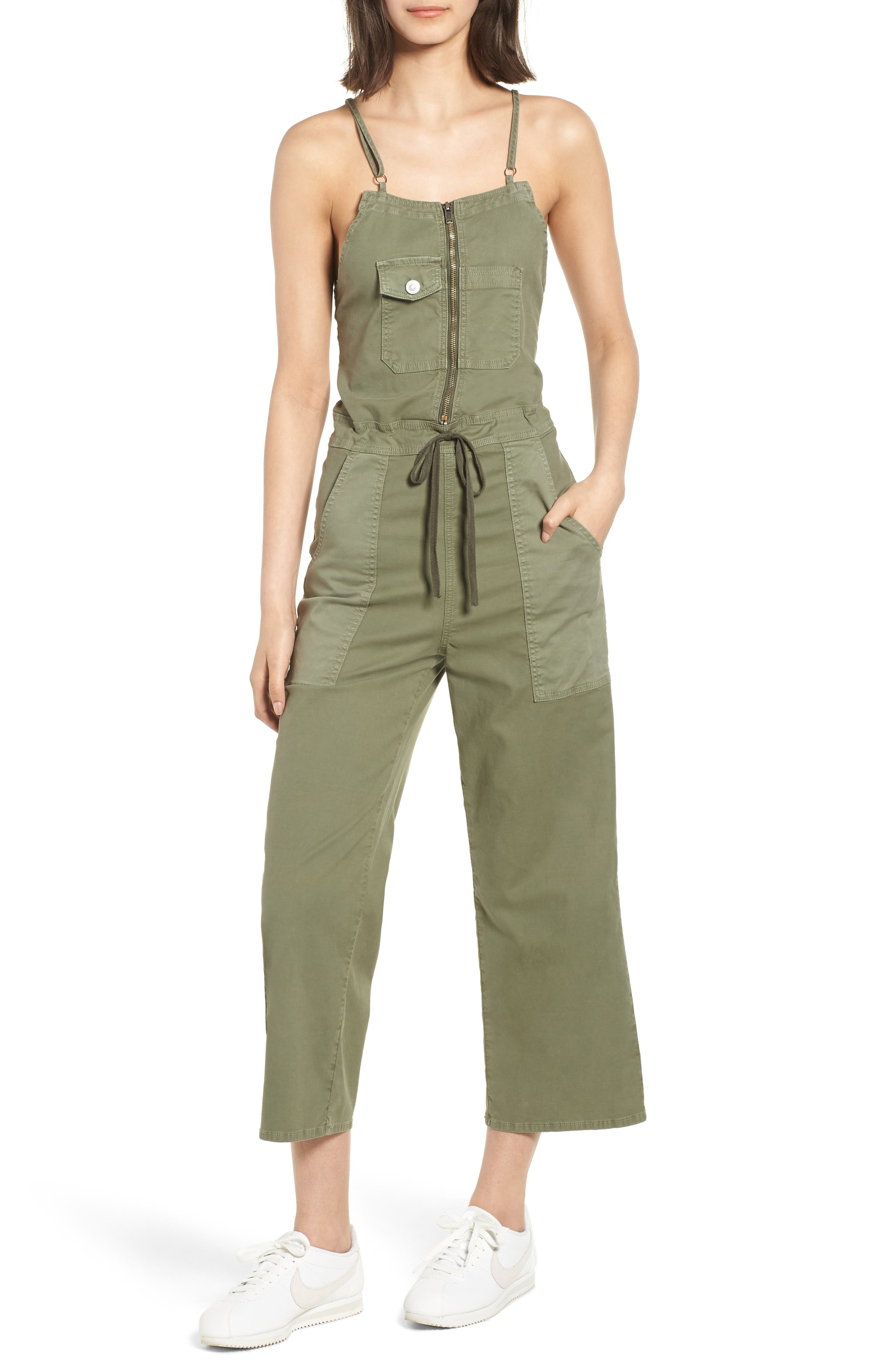 The Leverage Jumpsuit,                             Main thumbnail 1, color,                             Forester