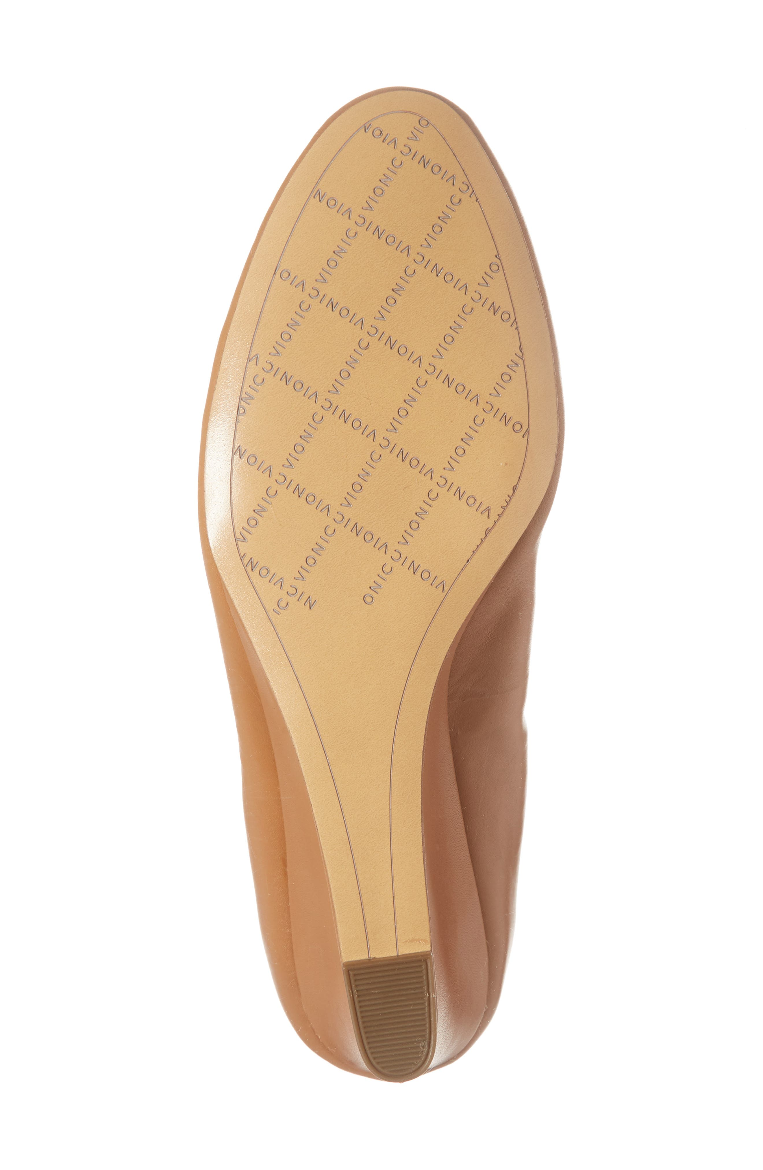 Camden Wedge,                             Alternate thumbnail 6, color,                             Tan Leather