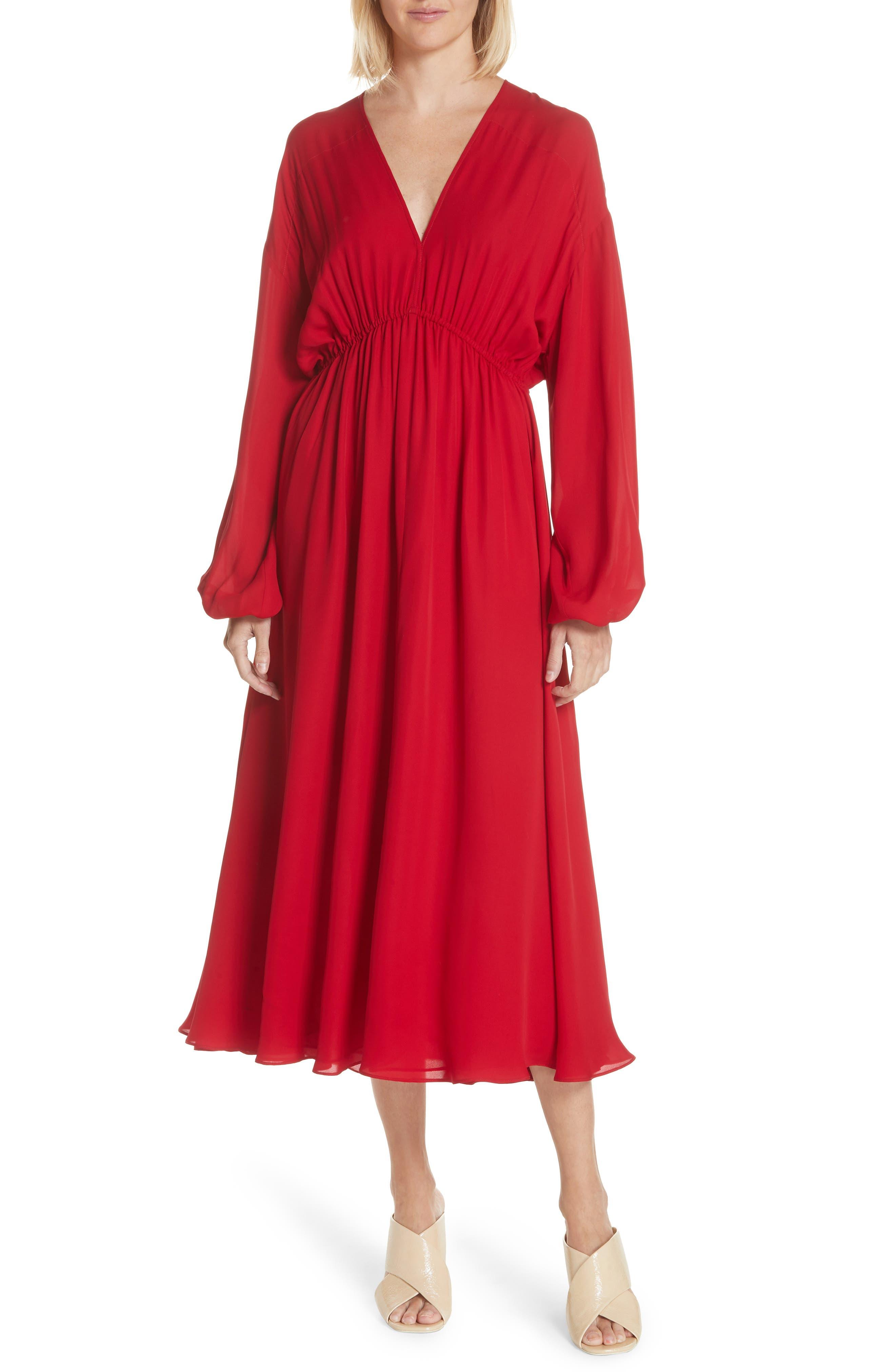 Elizabeth and James Norma Silk Dress