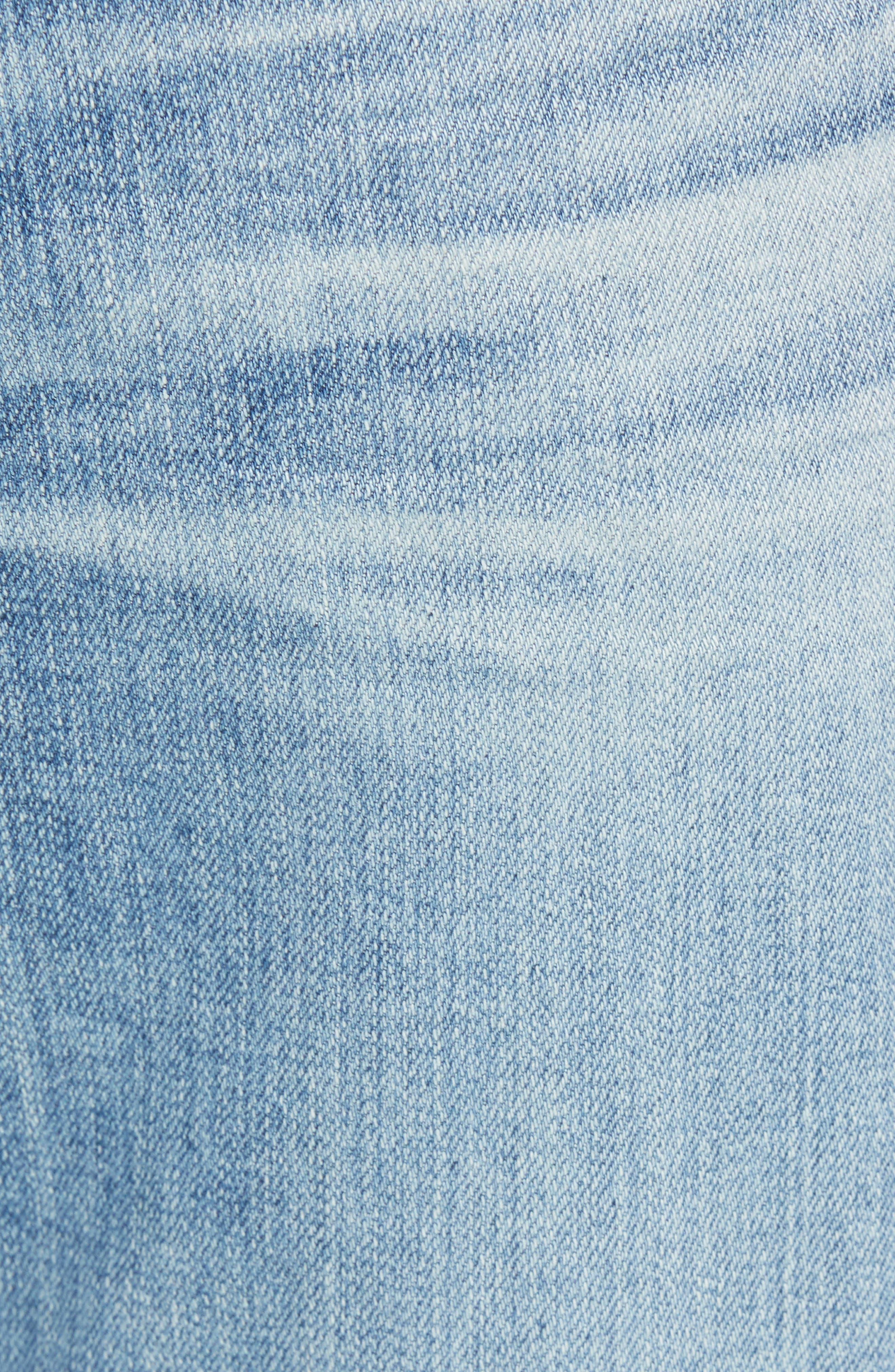 Everett Slim Straight Fit Jeans,                             Alternate thumbnail 5, color,                             18 Years Oceano